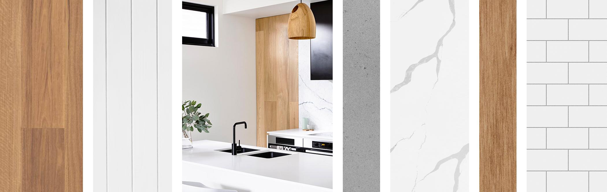 Kitchen Interior Design Concept - Inspiration Imagery, Fraser Residence. LO Design Studio Interior Designer Canberra