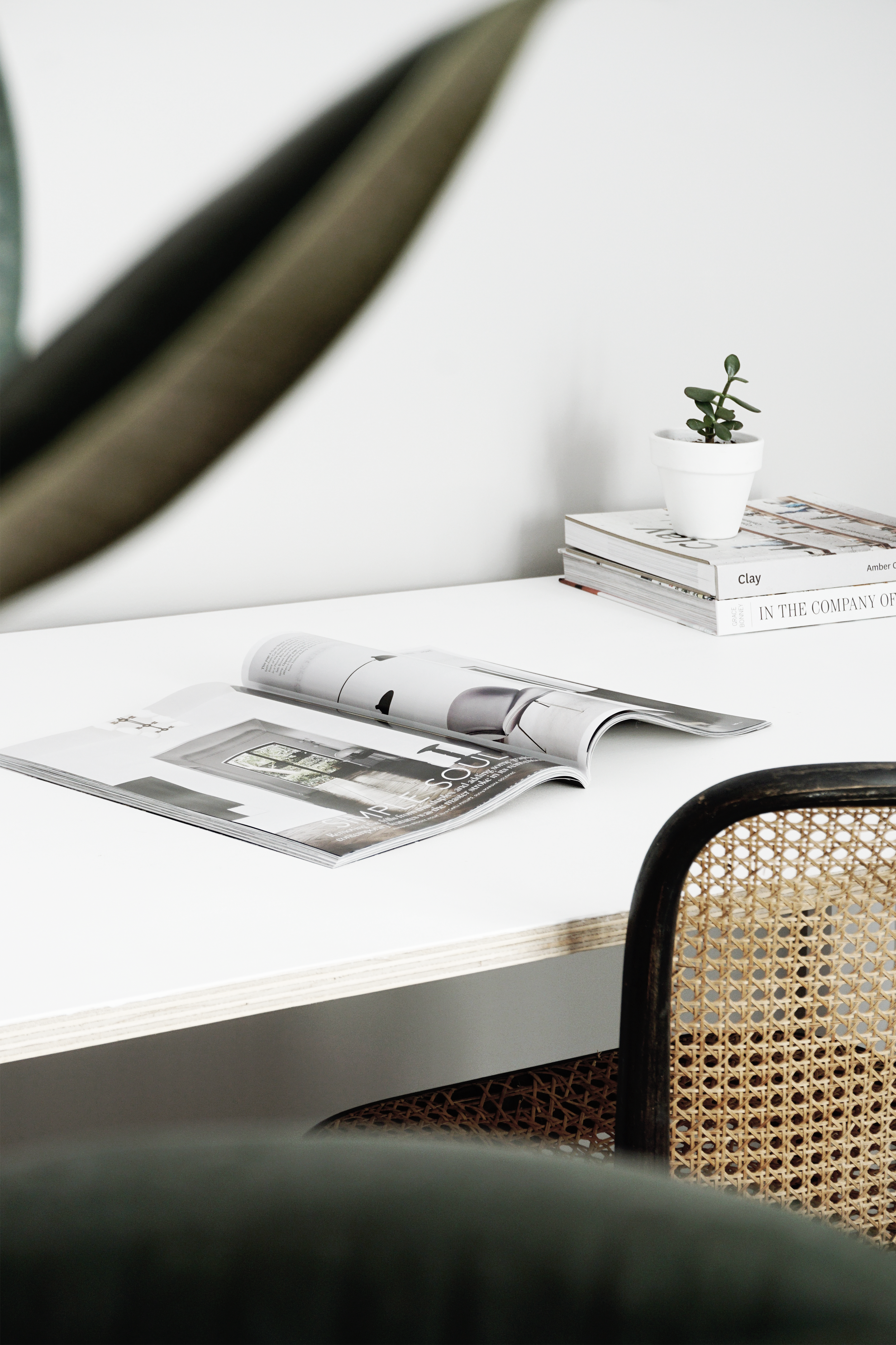 Studio Office Desk. LO Design Studio Canberra Interior Designer