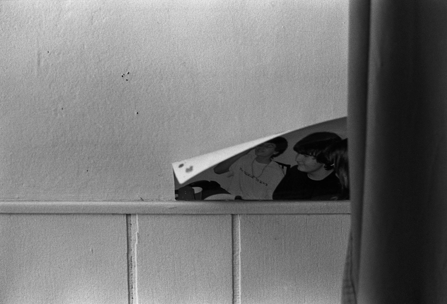 Darren Bilodeau,  P  eeling Photograph, silver gelatin print, 11x14, 2015