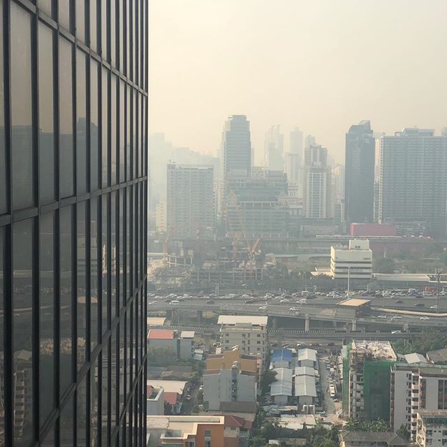 Nope, not running in this #smog #pollution #bangkok