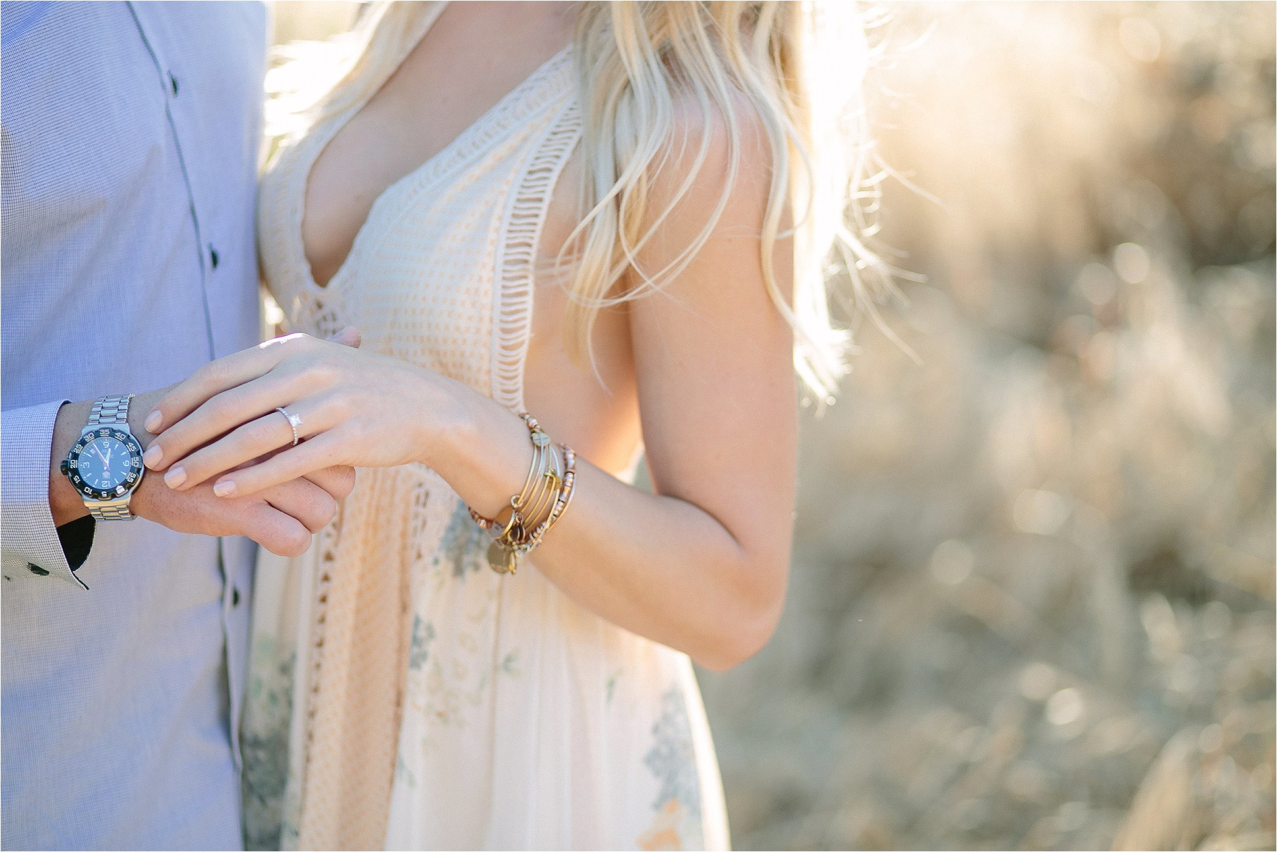 Santa Clarita Engagement Ring Detail Photo
