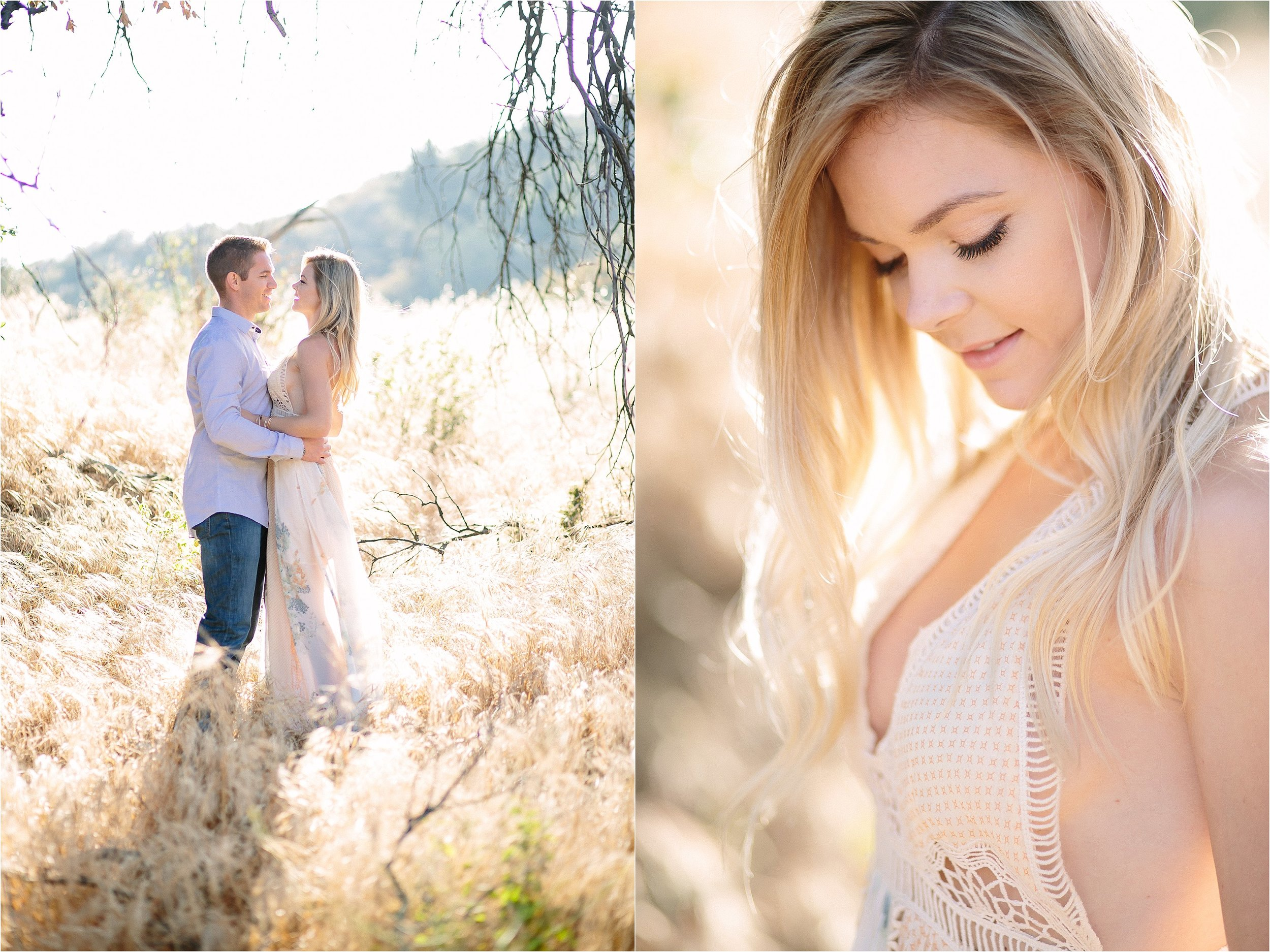 Santa Clarita Golden Engagement Photo