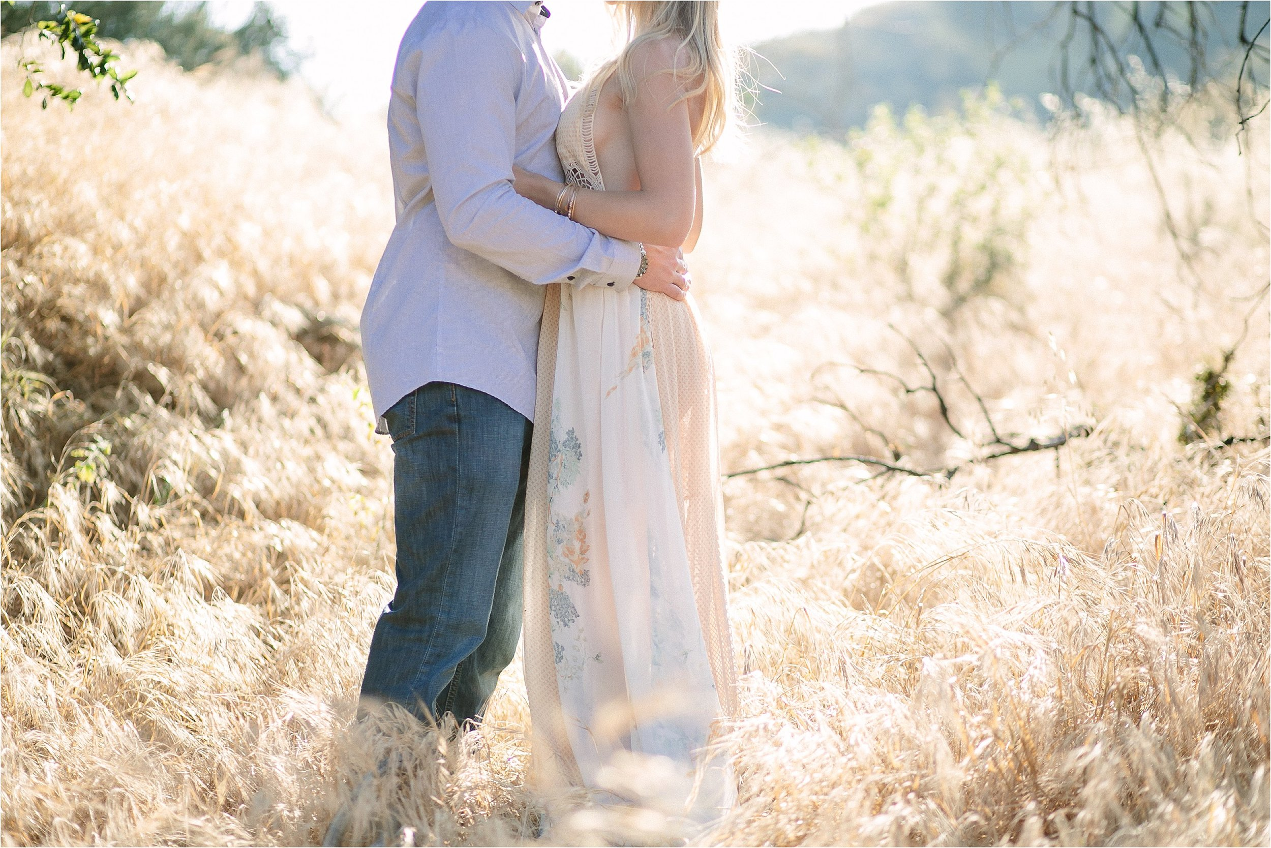 Santa Clarita Natural Outdoor Engagement Session