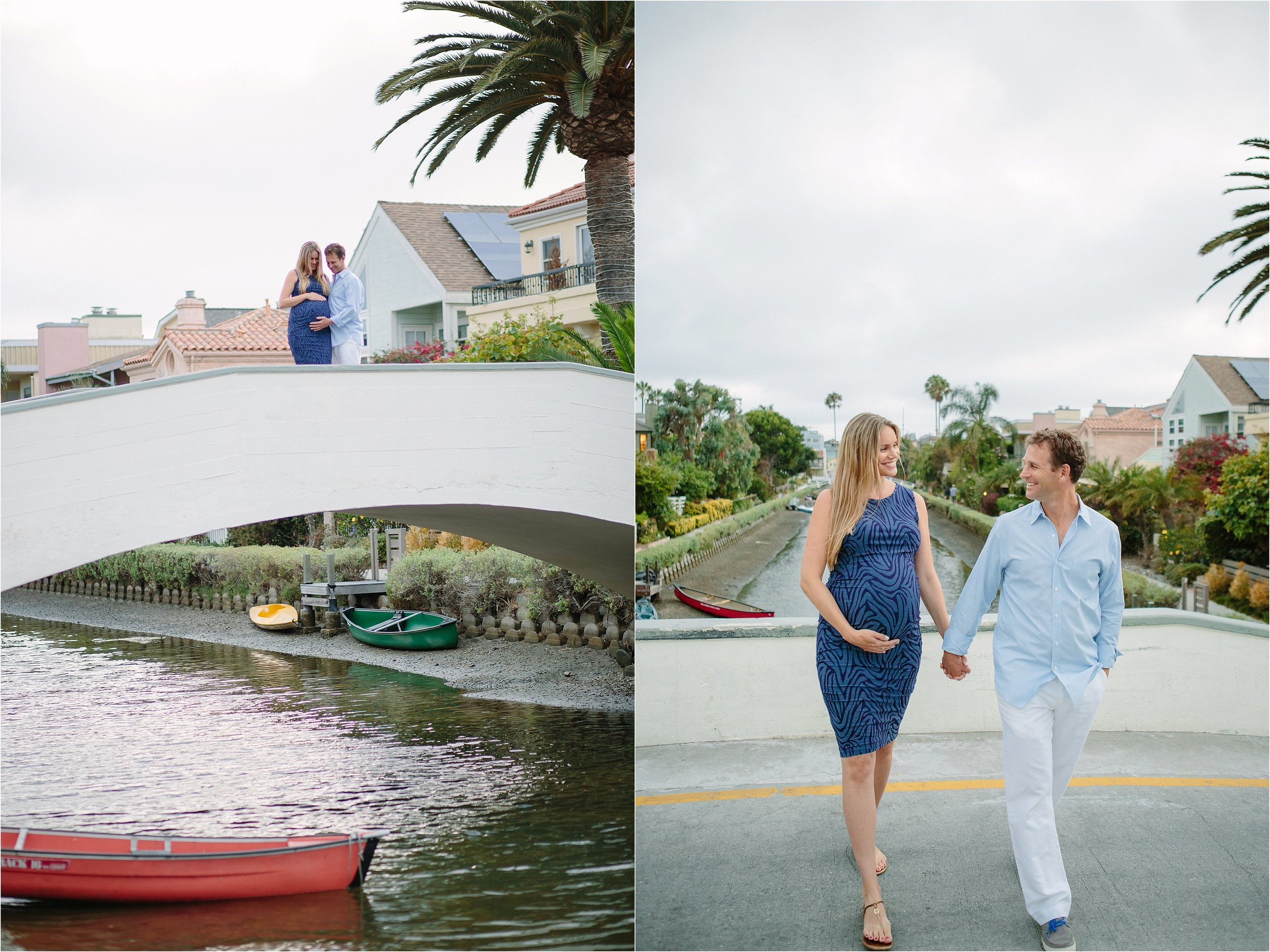 Venice Canals Natural Light Maternity Photo