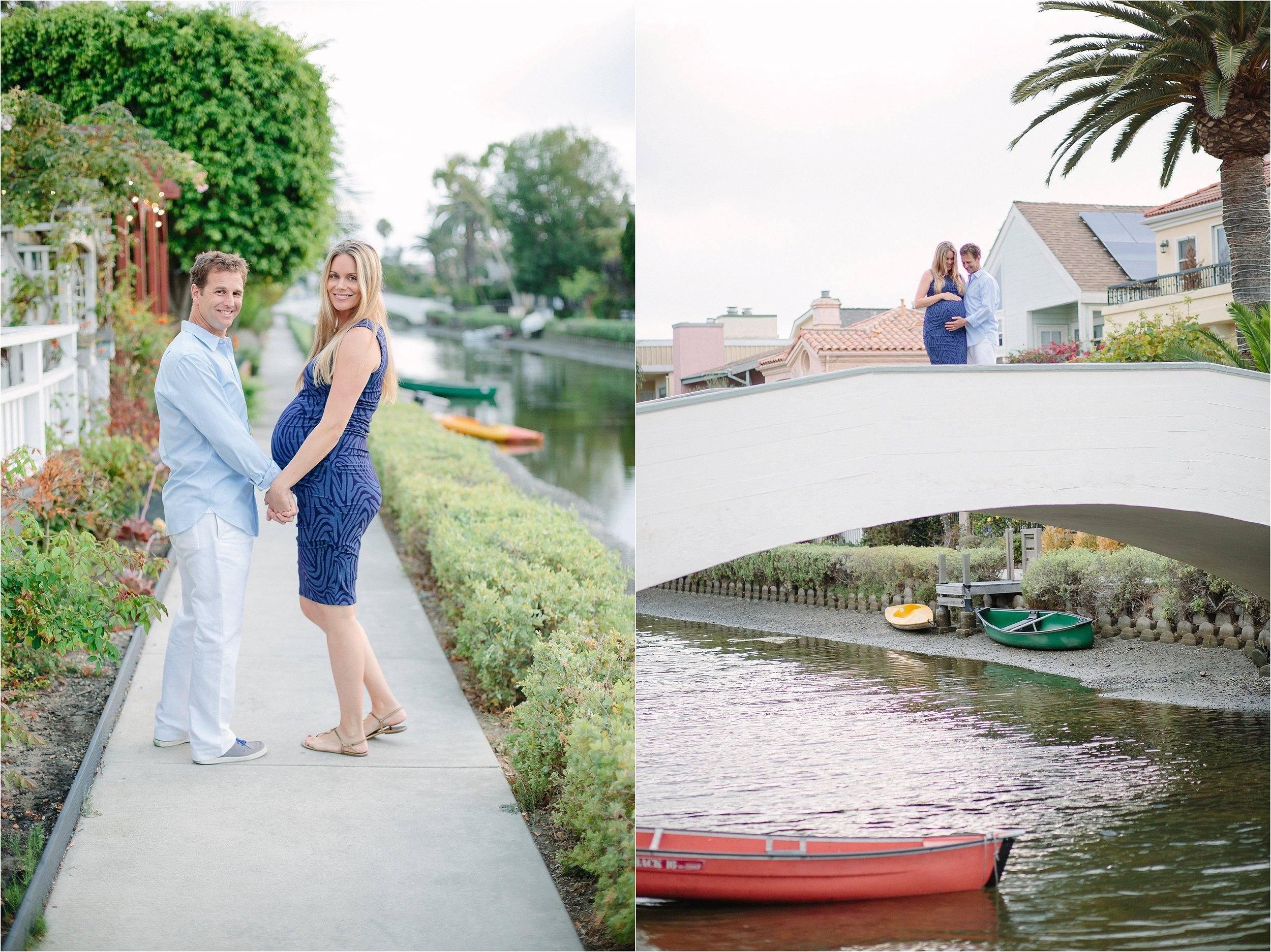 Venice Canals Maternity Photo