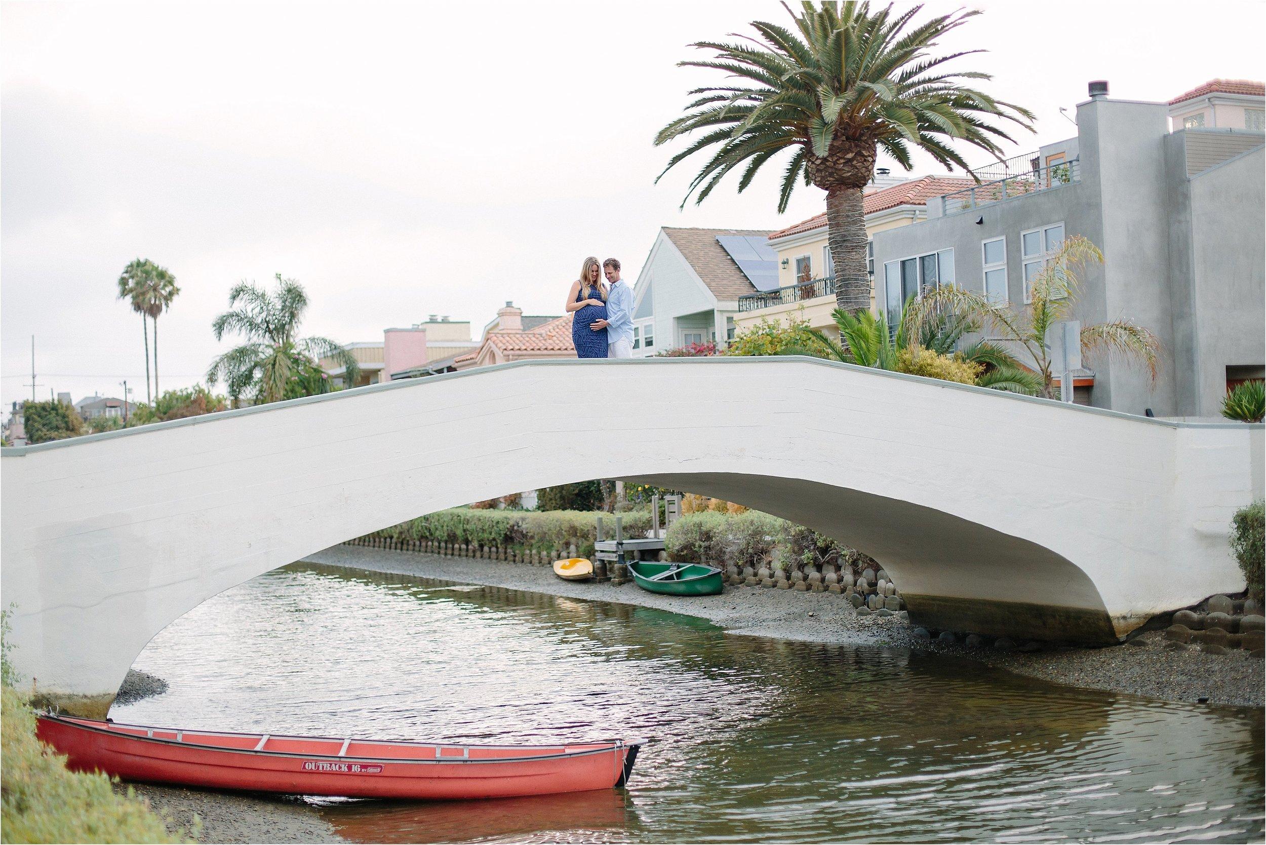 Venice Canals Bridge Photo