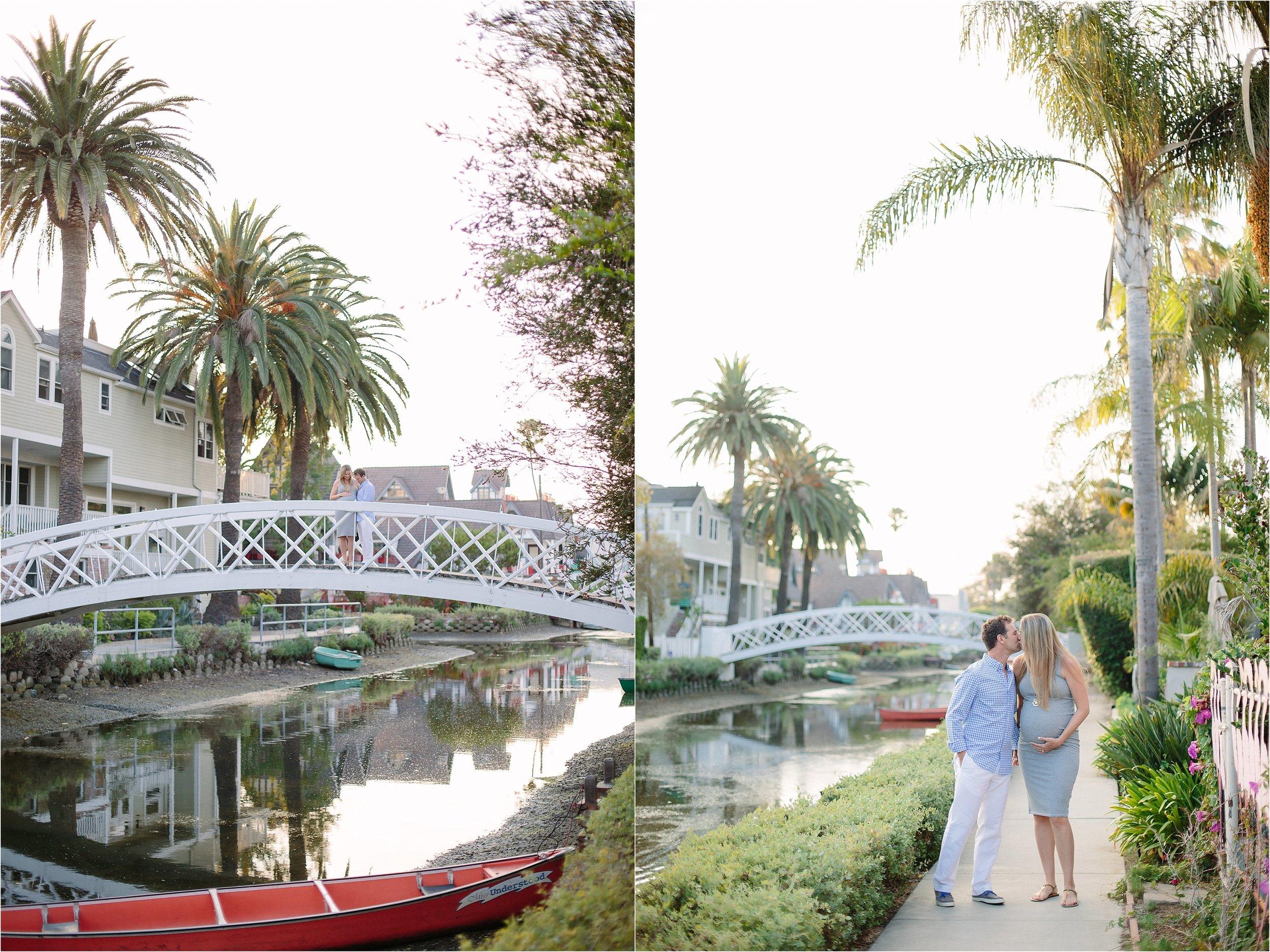 Venice boardwalk Maternity Photo