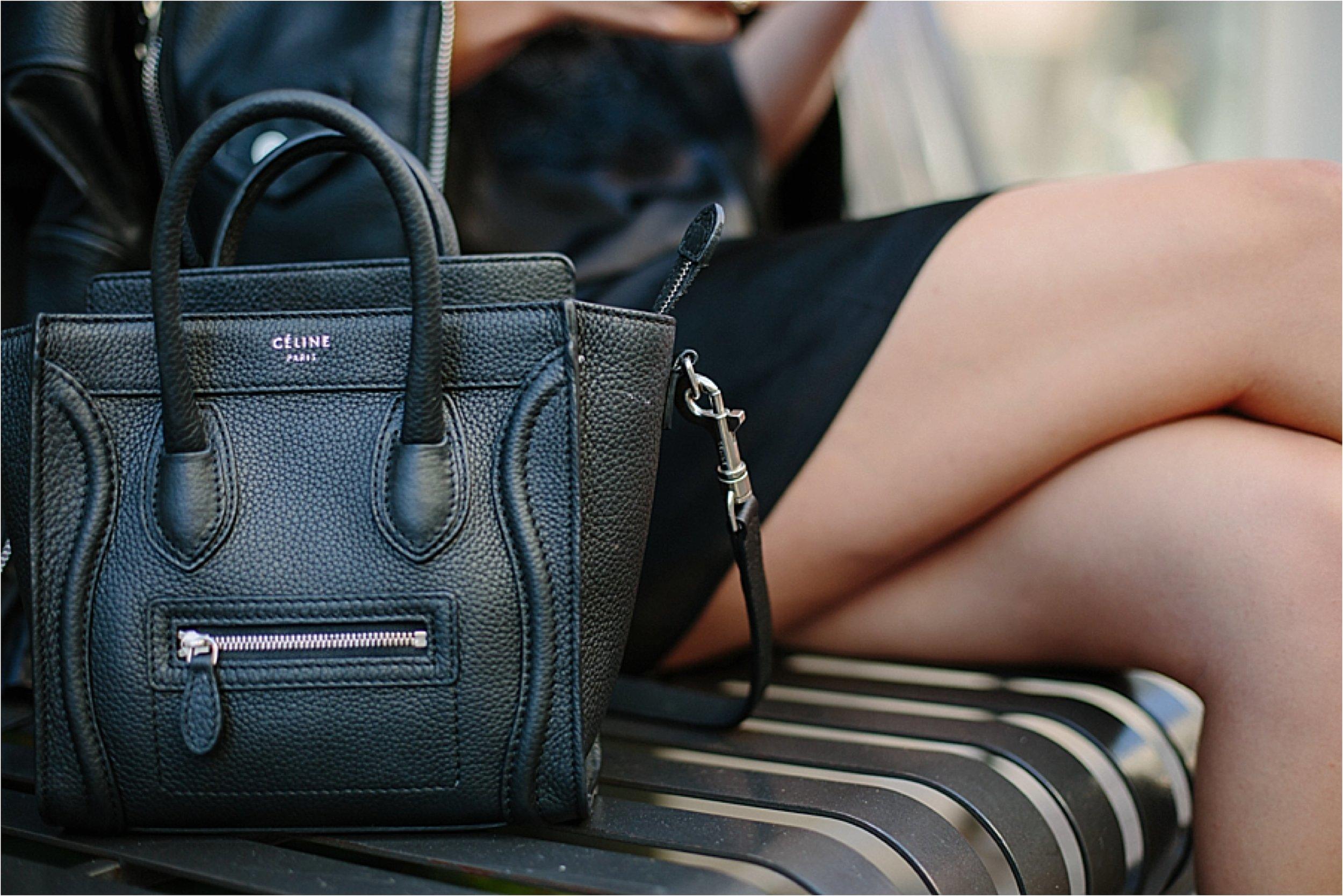 Los Angeles Fashion - Celine Bag Detail Photo