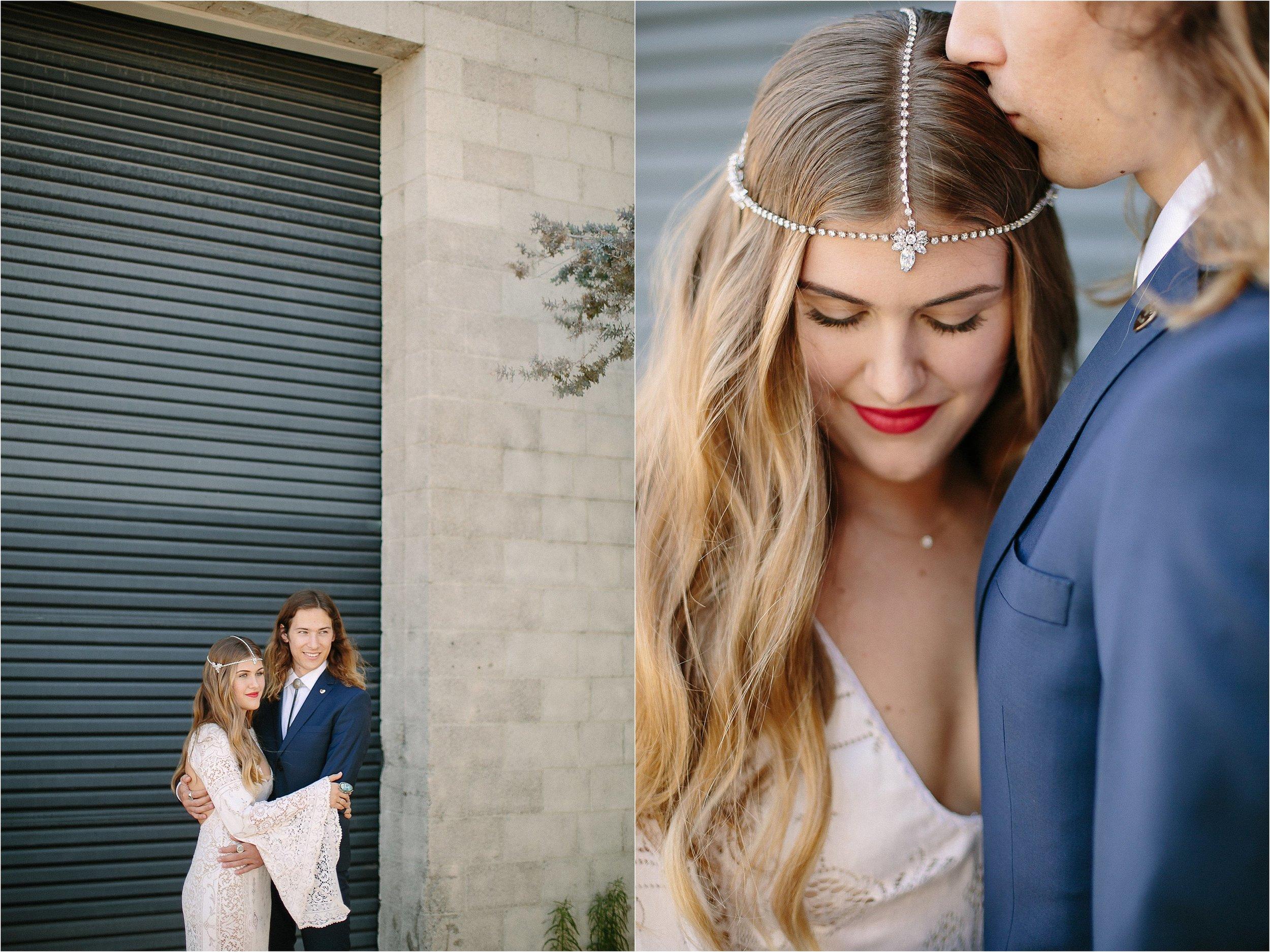 Samantha Wills Bridal Headpiece Detail Photo