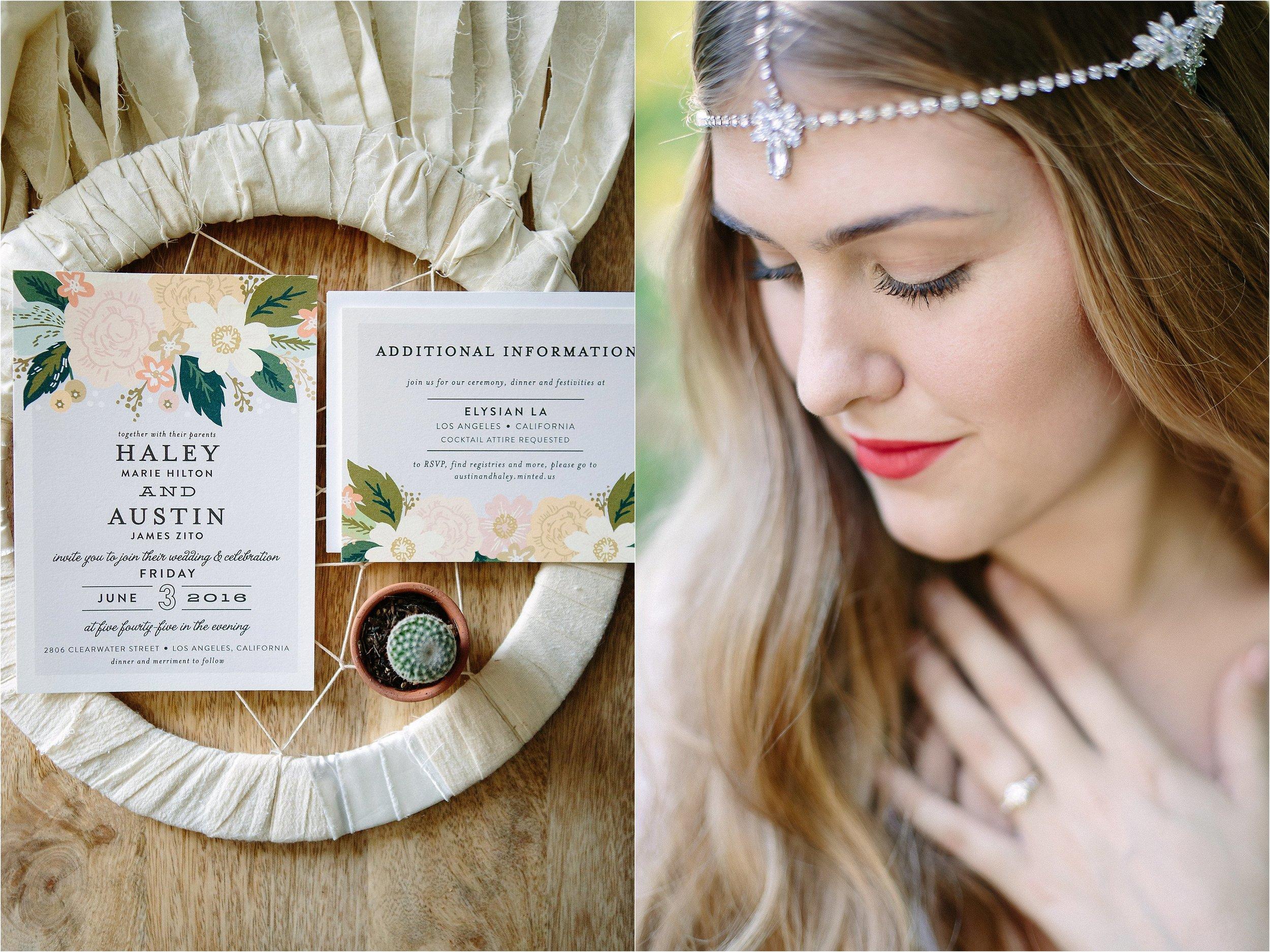Wedding Invitation Detail Photo