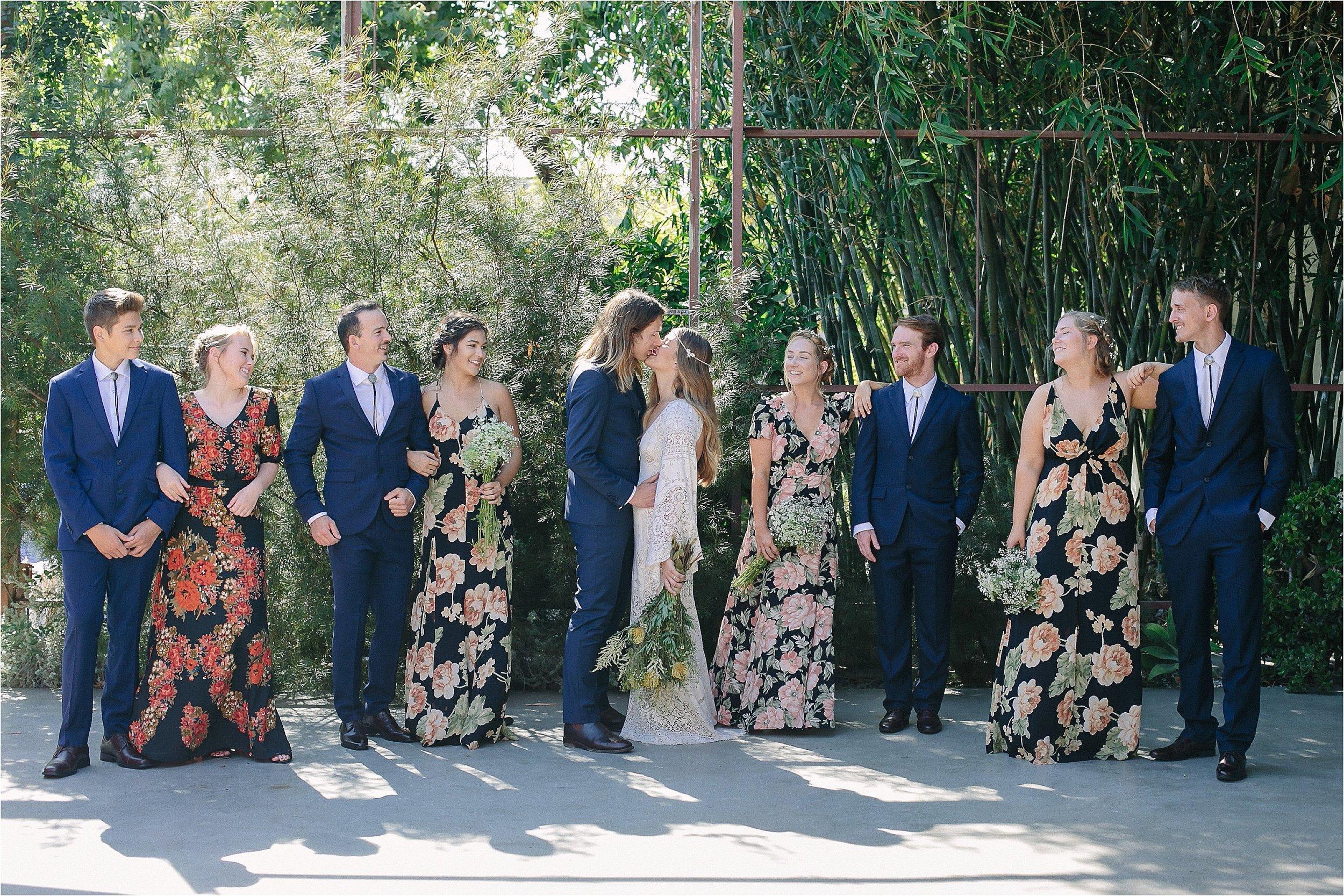 Bridal Party Magic Hour Portraits