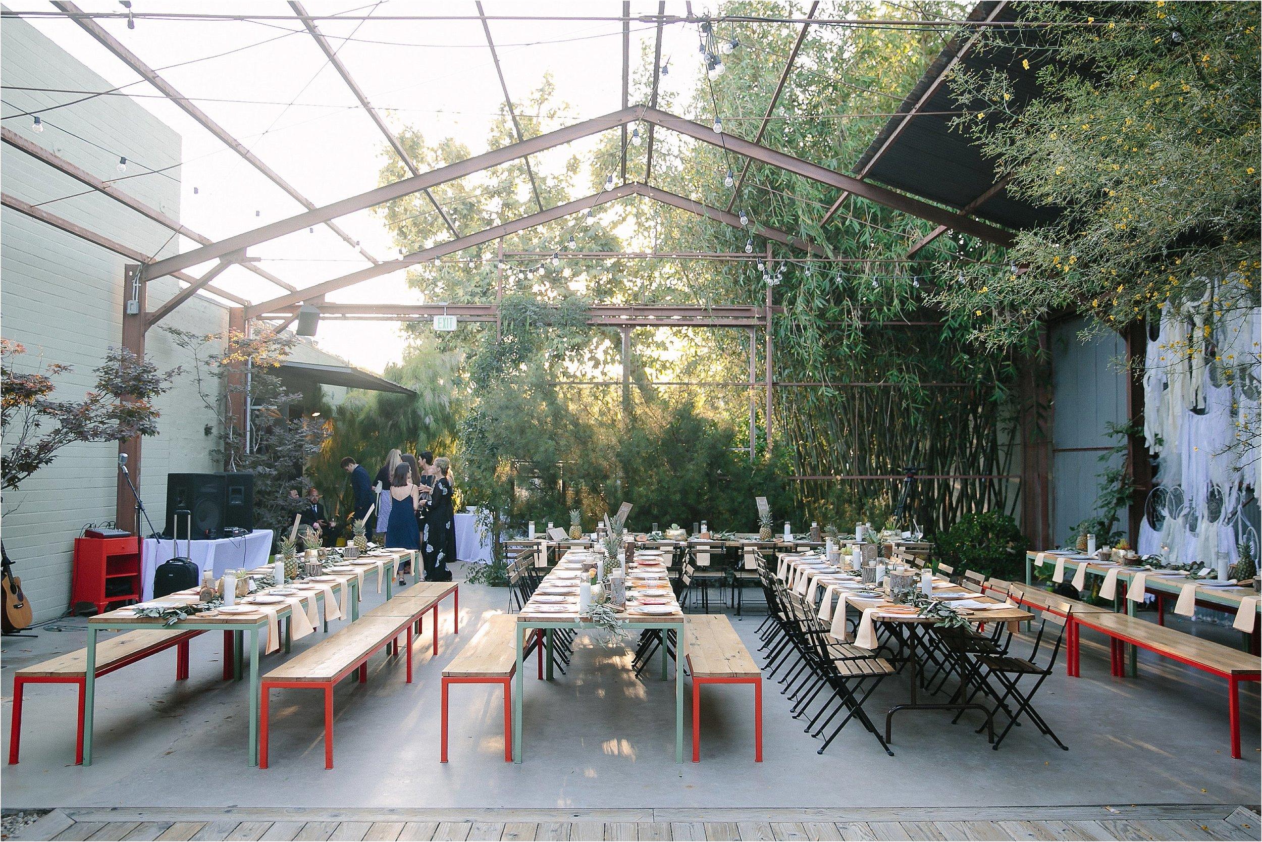 Elysian LA Outdoor Reception