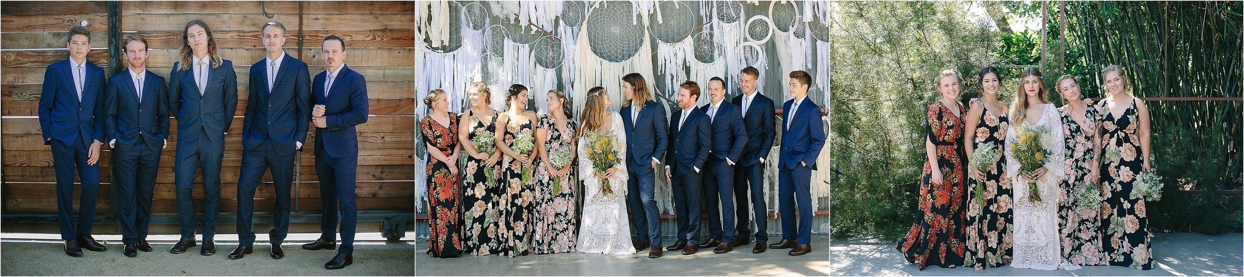 Elysian LA Bridal Party Portraits