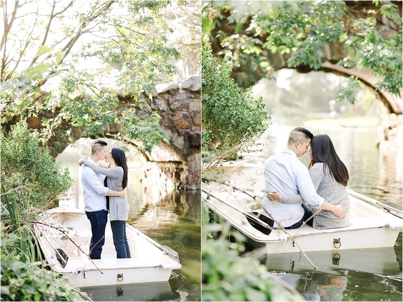 Stowe Lake Boathouse Engagement Photos