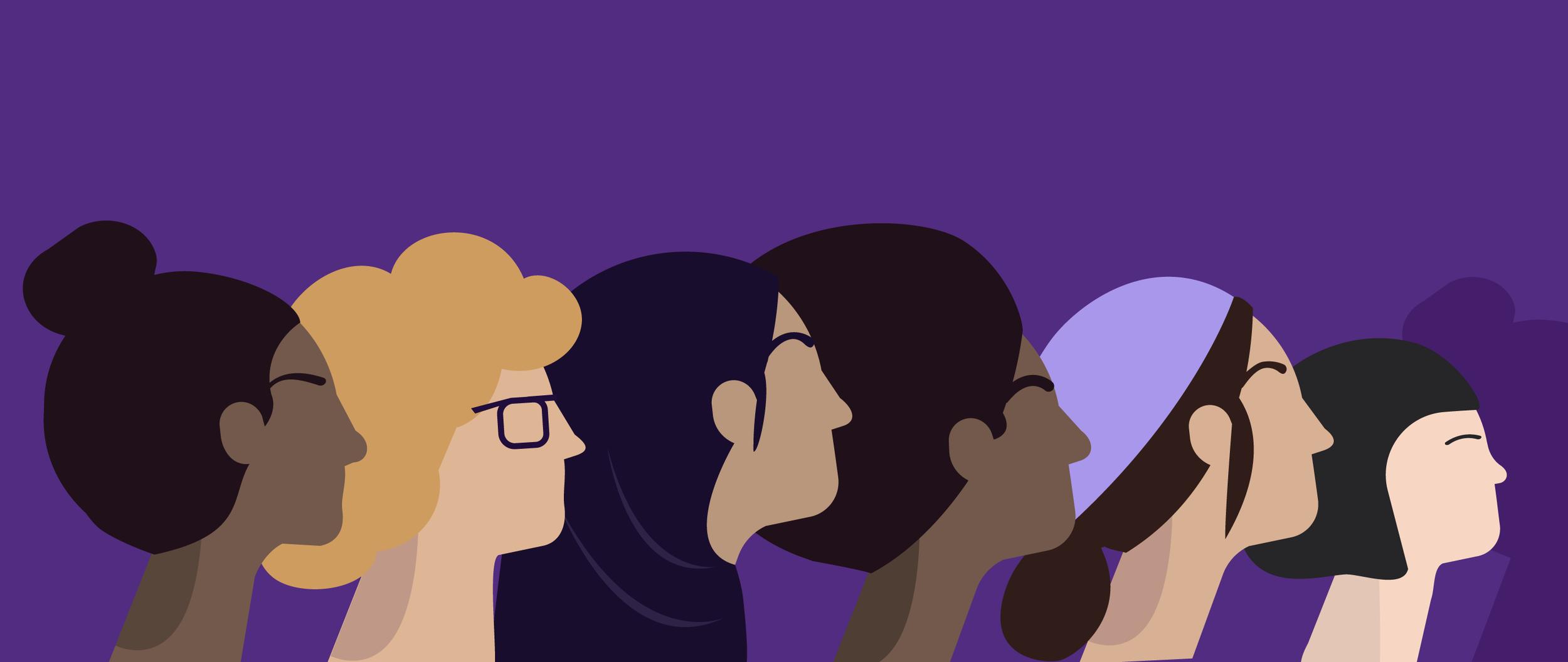 International Women's Day | Microsoft - Illustration | Art Direction
