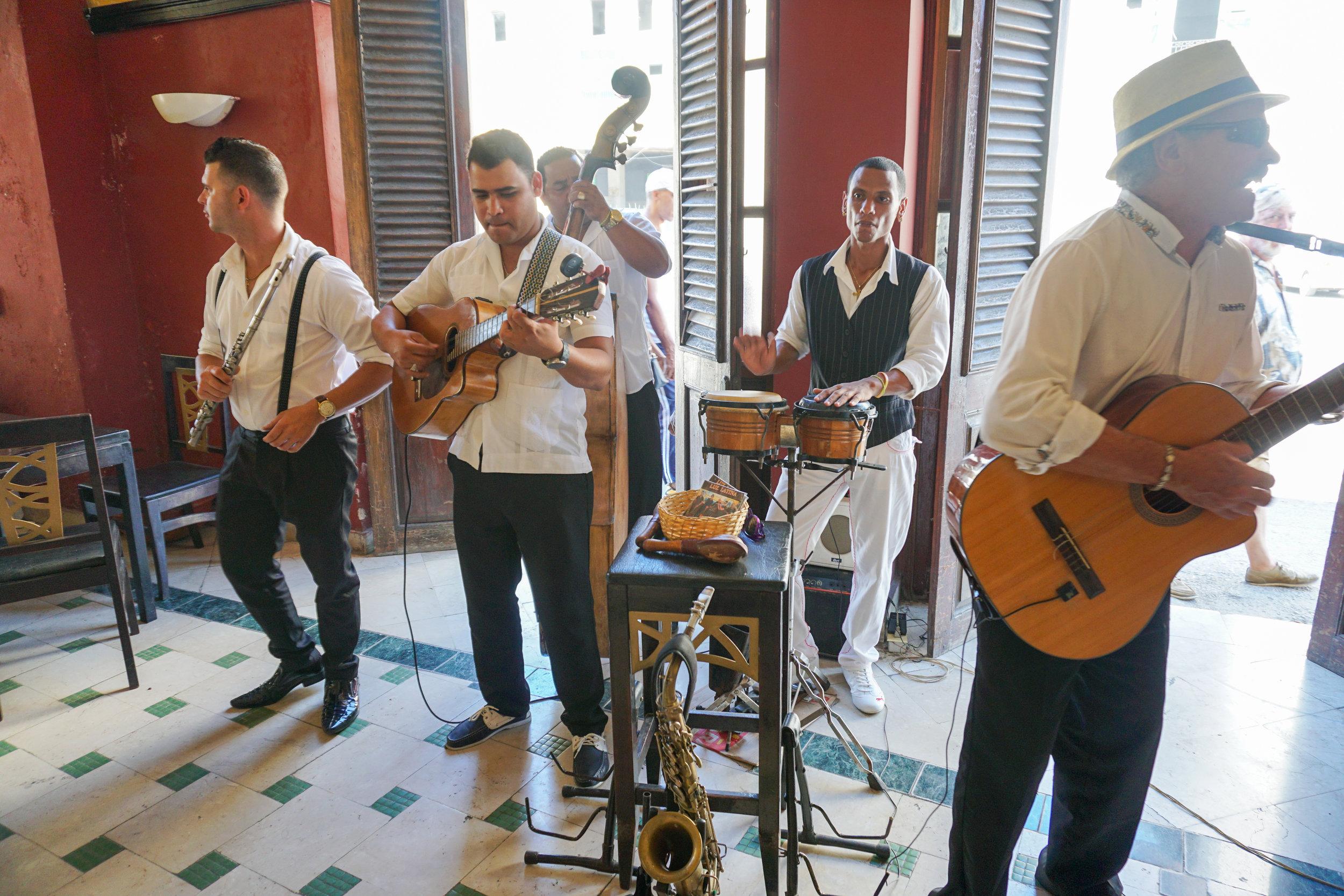 Great live Cuban music in Havana
