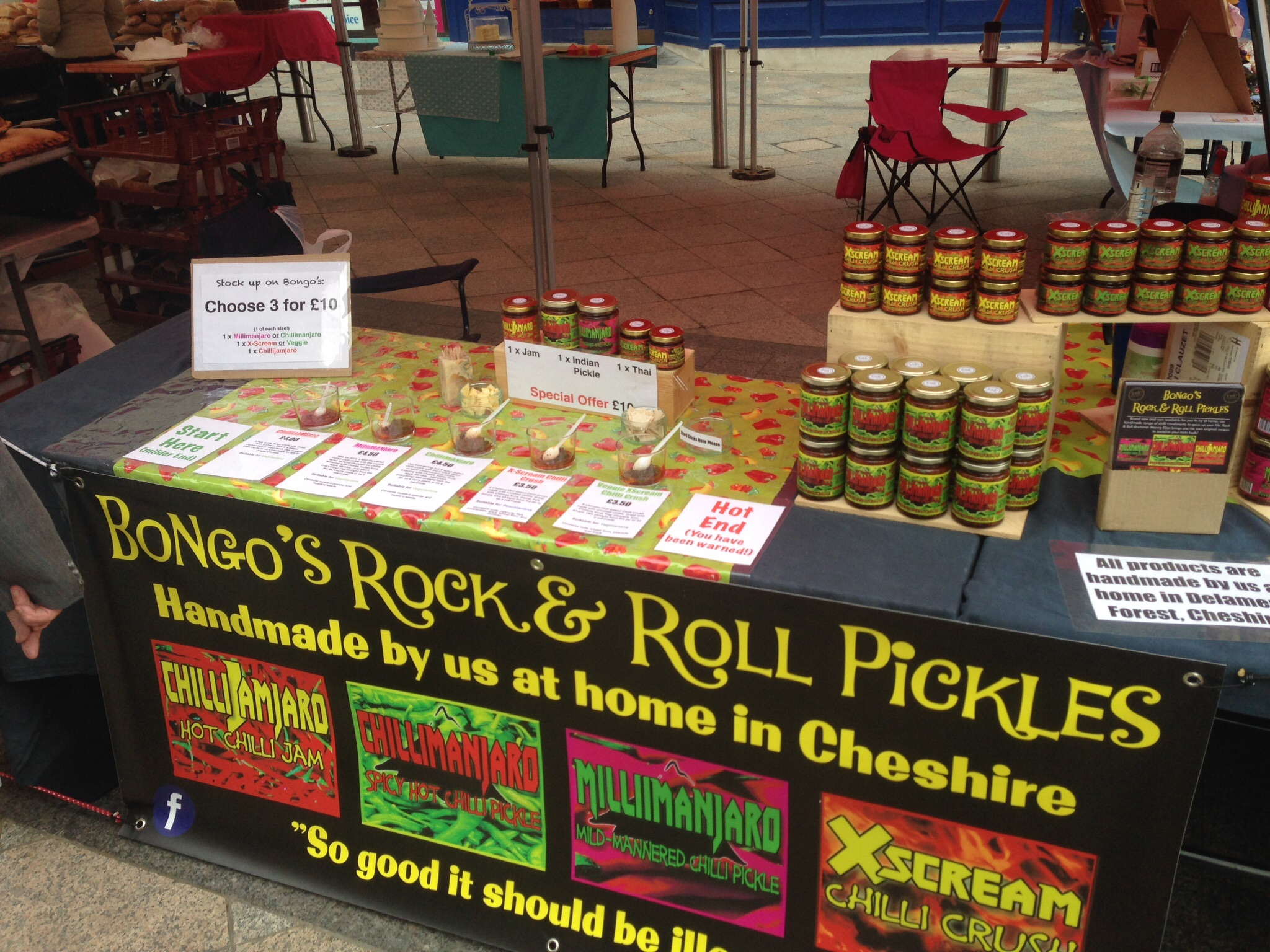 Ready to tickle your tastebuds at Warrington!