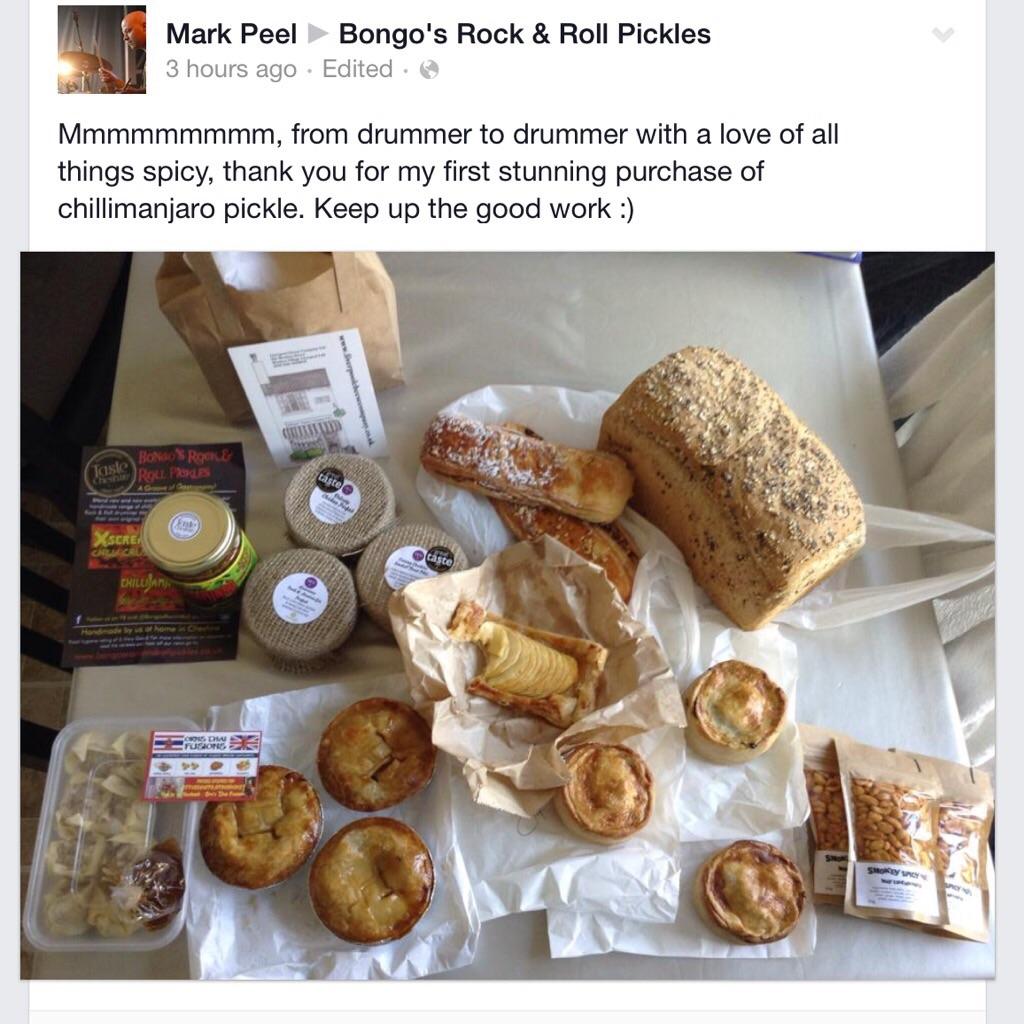 Great customer feedback for Bongo's!