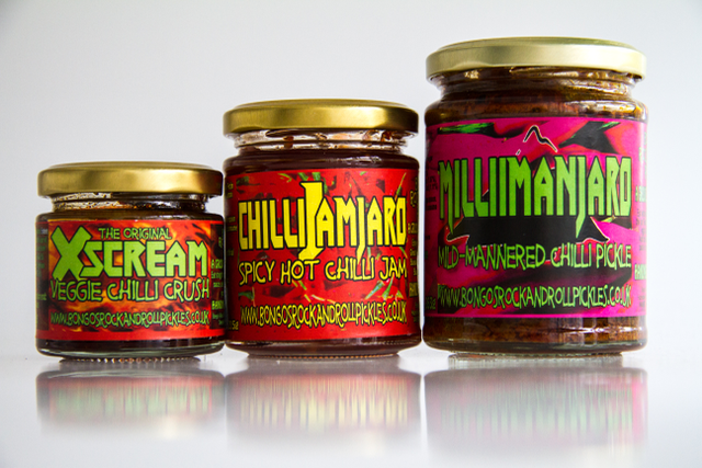 Bongo's Rock & Roll Chilli Pickles