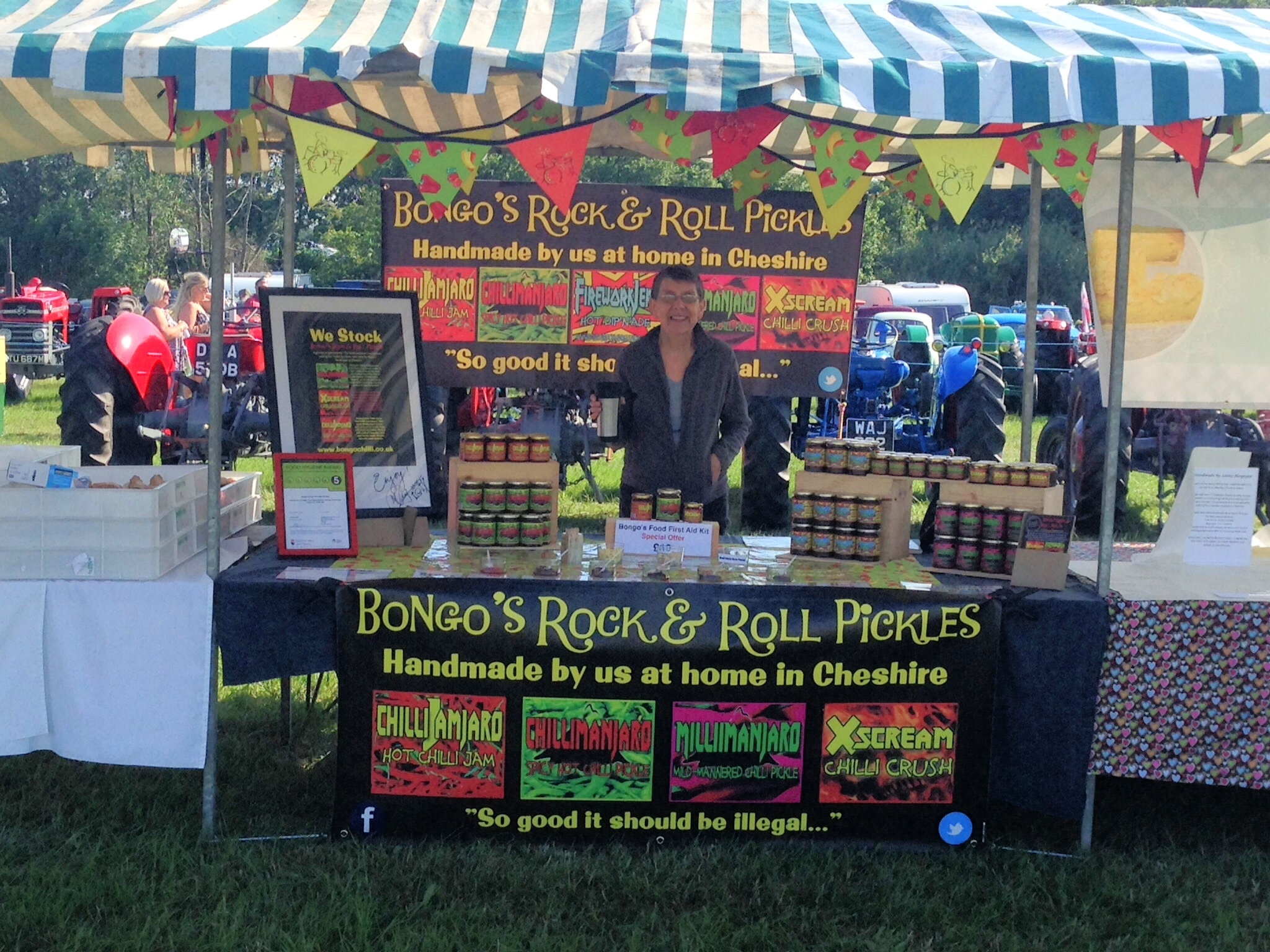 The stall looked great! Well done Momma Bongo!