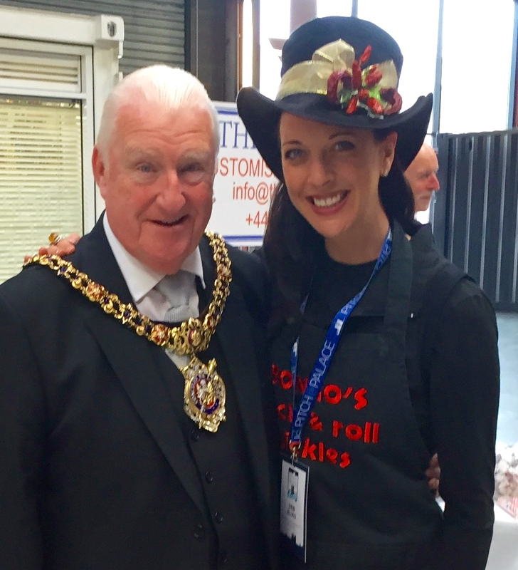 We also met The Lord Mayor of Manchester, Councillor Paul Murphy OBE