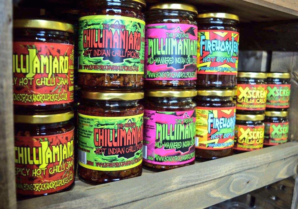 Bongo's on the shelf!