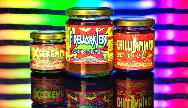 The Hasselhoff - Bongo's Rock & Roll Chilli Pickles