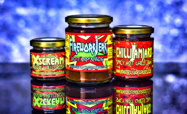 Hasselhoff - Bongo's Rock & Roll Chilli Pickles