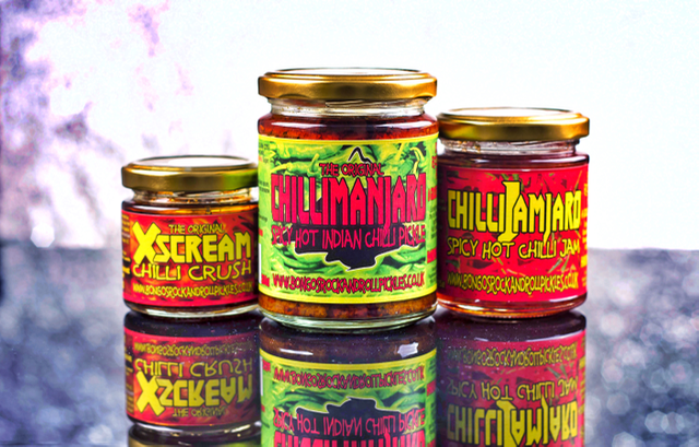 Food First Aid Kit - Bongo's Rock & Roll Chilli Pickles