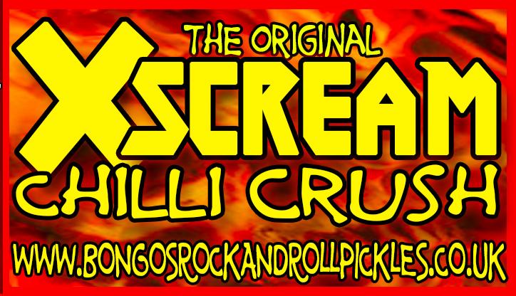 XScream Chilli Crush Bongo's Rock & Roll Pickles