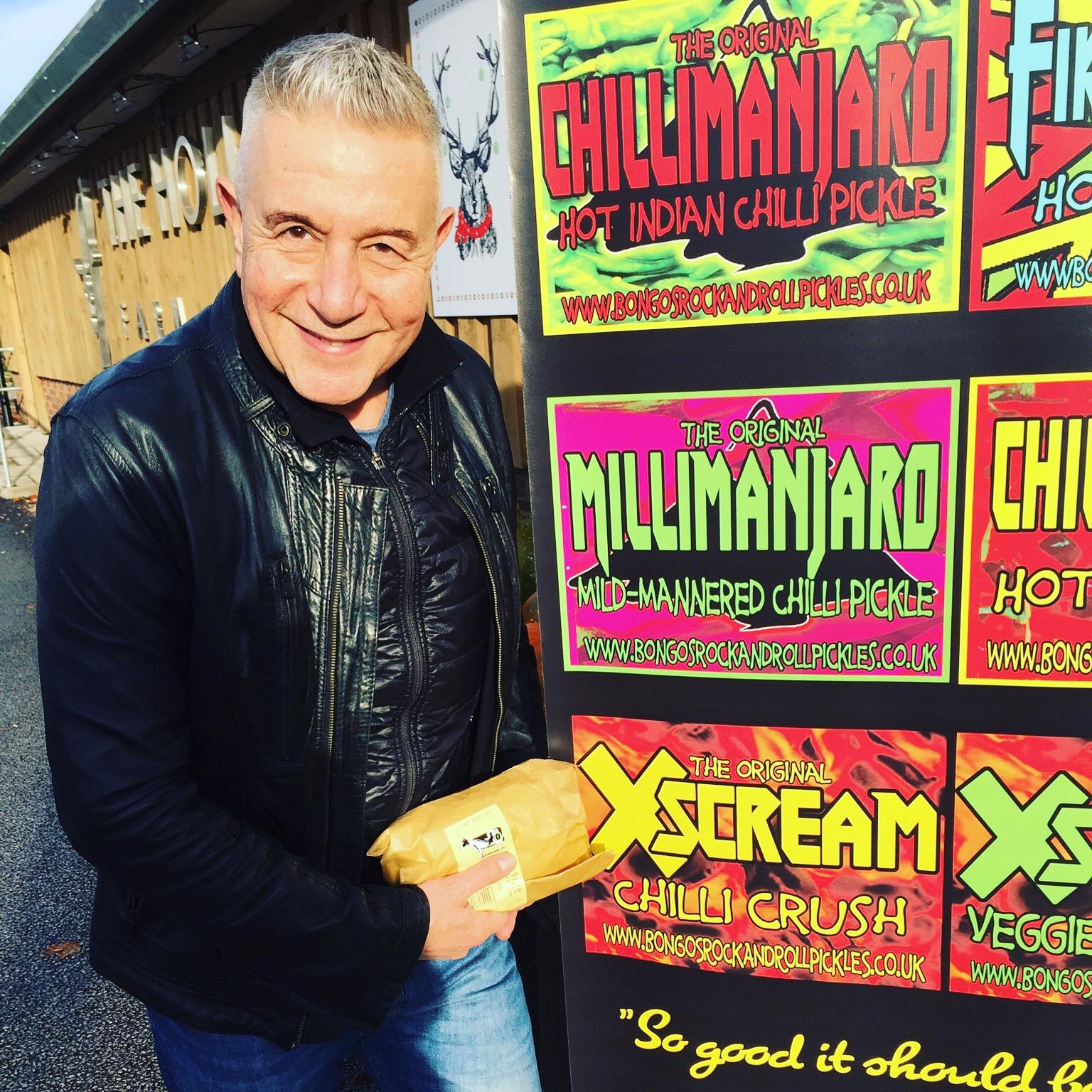 Manny Elias Bongos Rock & roll Pickles