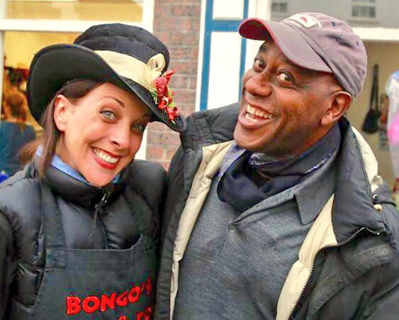 Bongo's Rock & roll Chillis meet Ainsley Harriot at Notting Hoole Festival