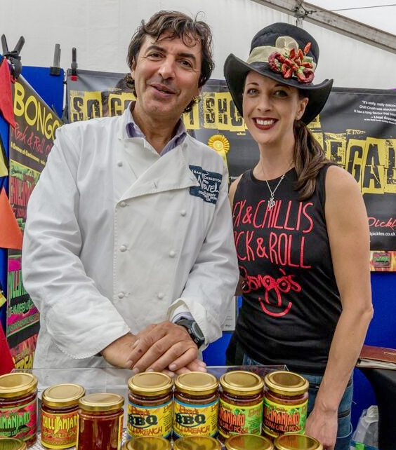 Bongo's Rock & Roll Pickles with Jean Christophe Novelli
