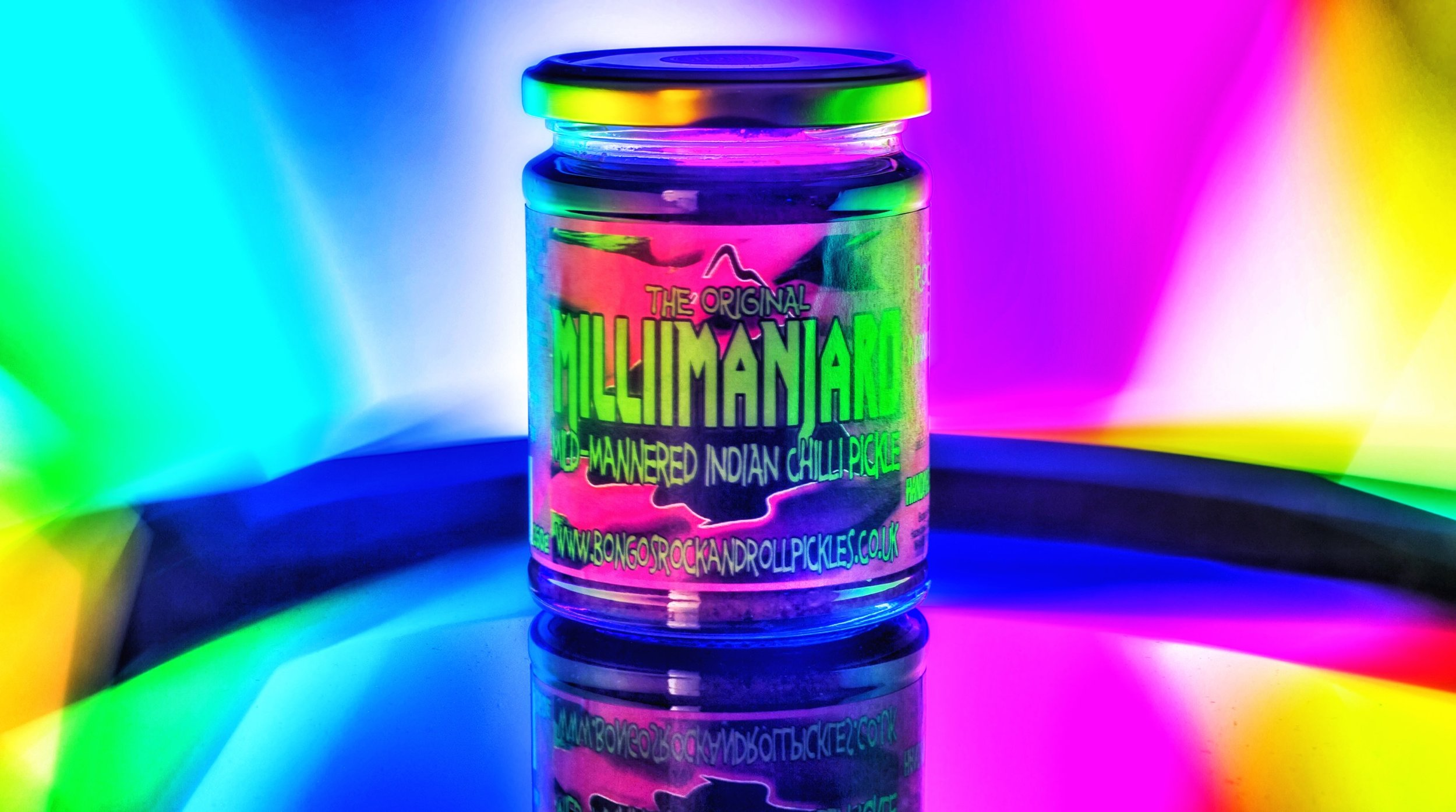 Millimanjaro- the BEST mild mannered Indian chilli pickle in the U.K.!