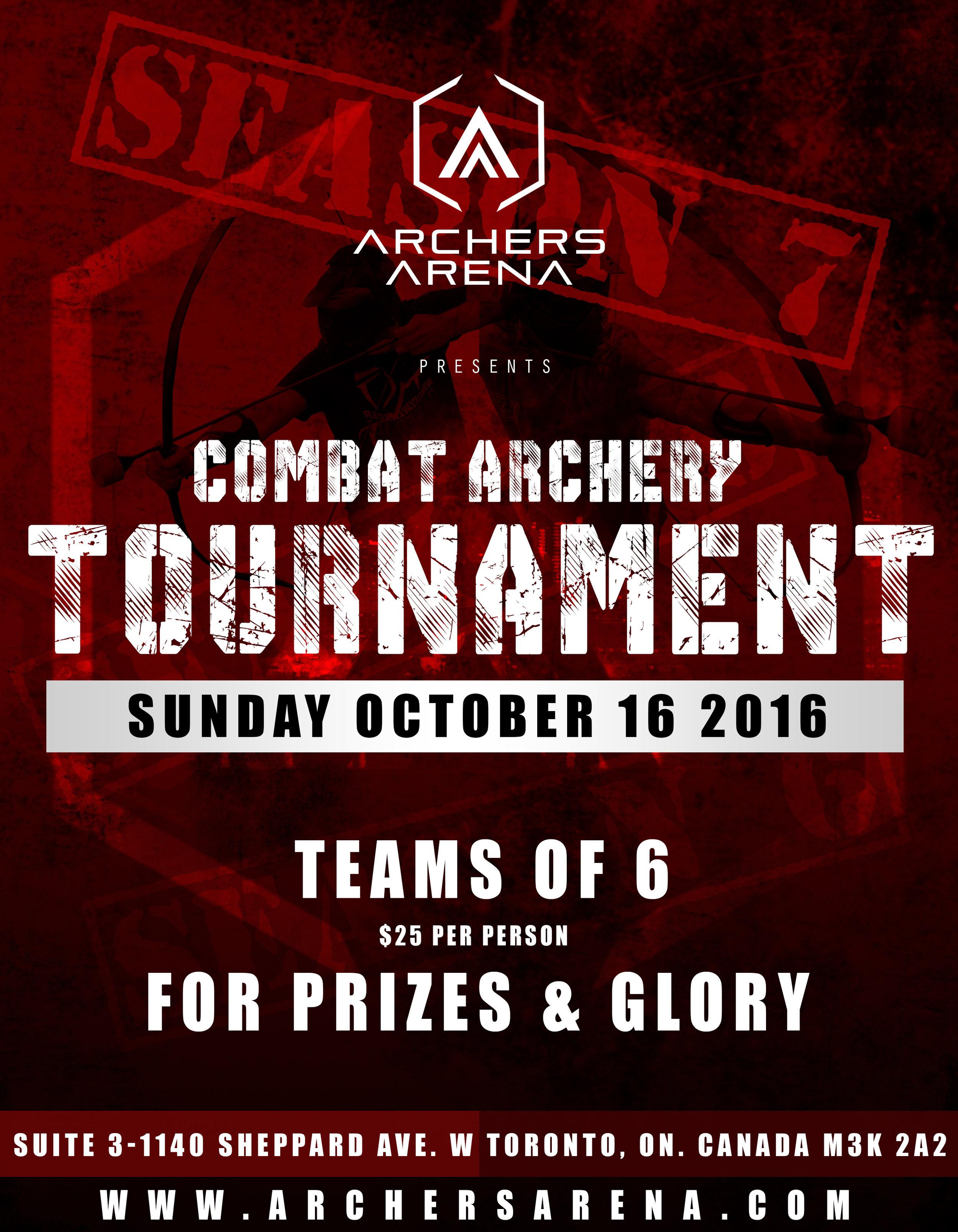 Archery Tag Combat Archery Competition Tournament