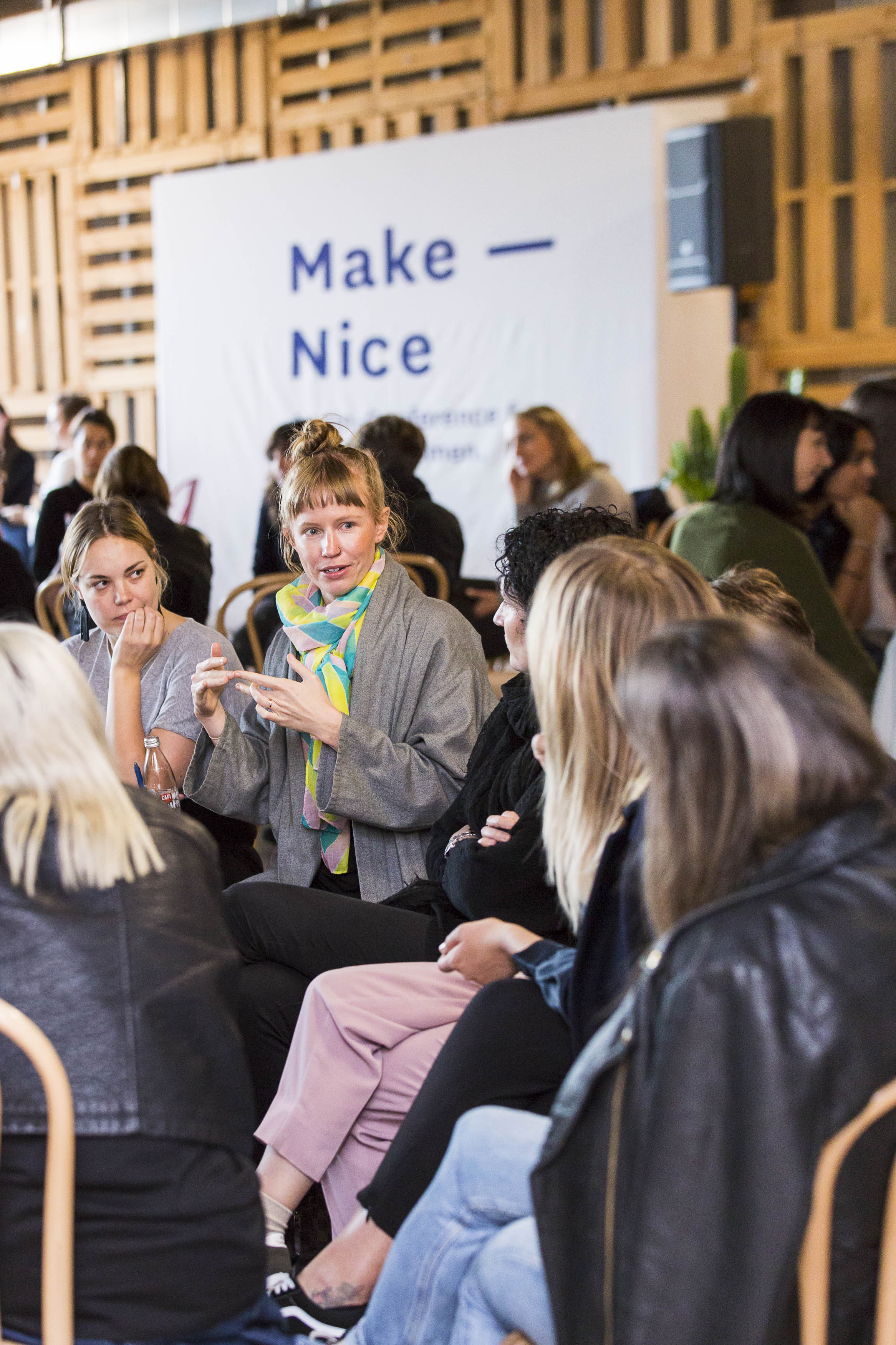 Make Nice at Vivid Ideas 2016.