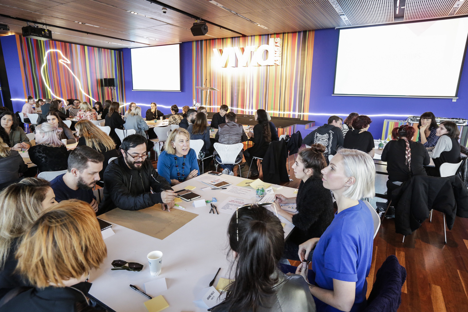 Women in Electronic Music Symposium presented by Music NSW at Vivid Ideas 2016