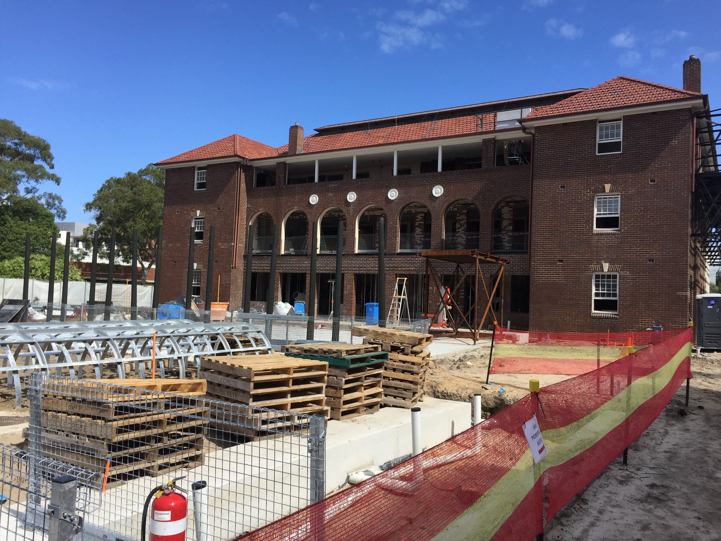 The Esme Cahill Building is being transformed into the  Joynton Avenue Creative Centre