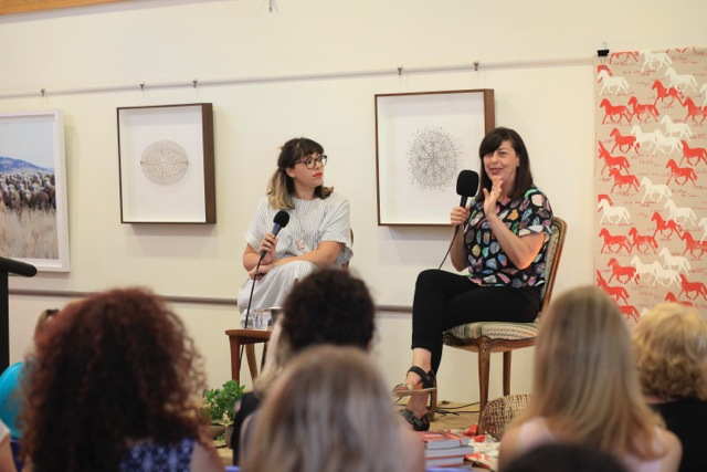 Speaking with Liane Rossler at In Conversation: Creative Women in North Sydney
