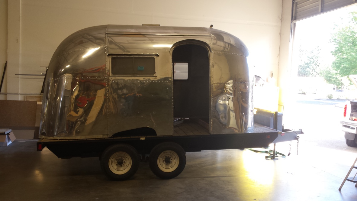 Custom 1957 Airstream Bubble