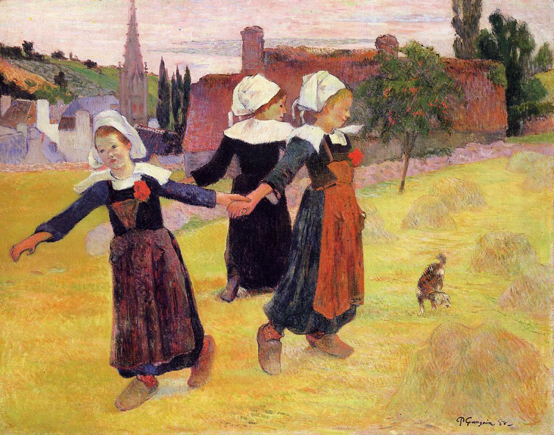 gauguin-bretonnes