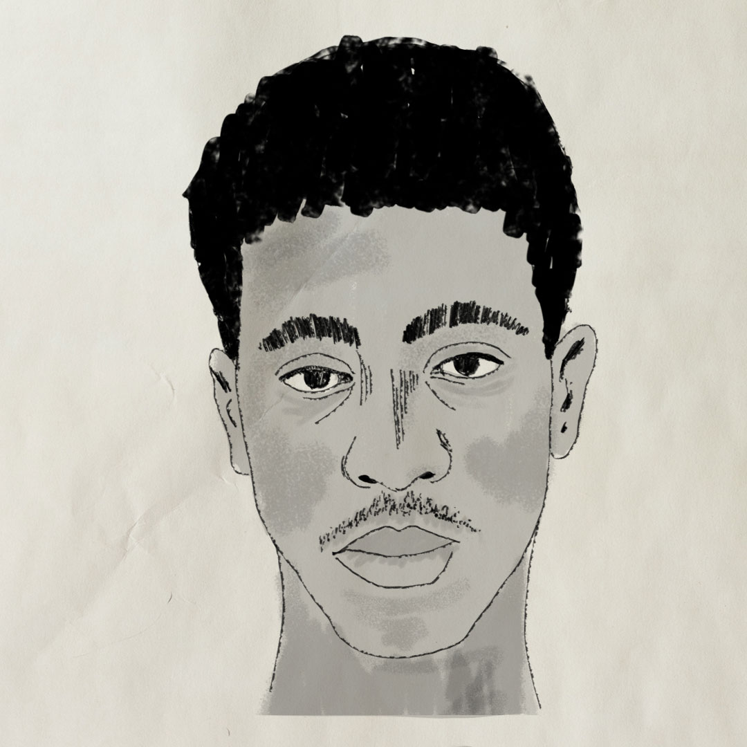 police sketches for Unsolved's    The Mysterious Death Of Tupac Shakur