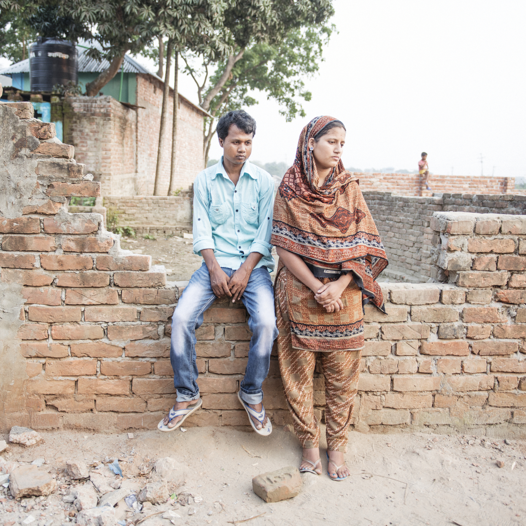 Mohammad Shahin, and his wife Mosammat Rani Akhter, struggling to make ends meet in Savar, contemplate moving to Jamalpur, their village home, outside of Dhaka.