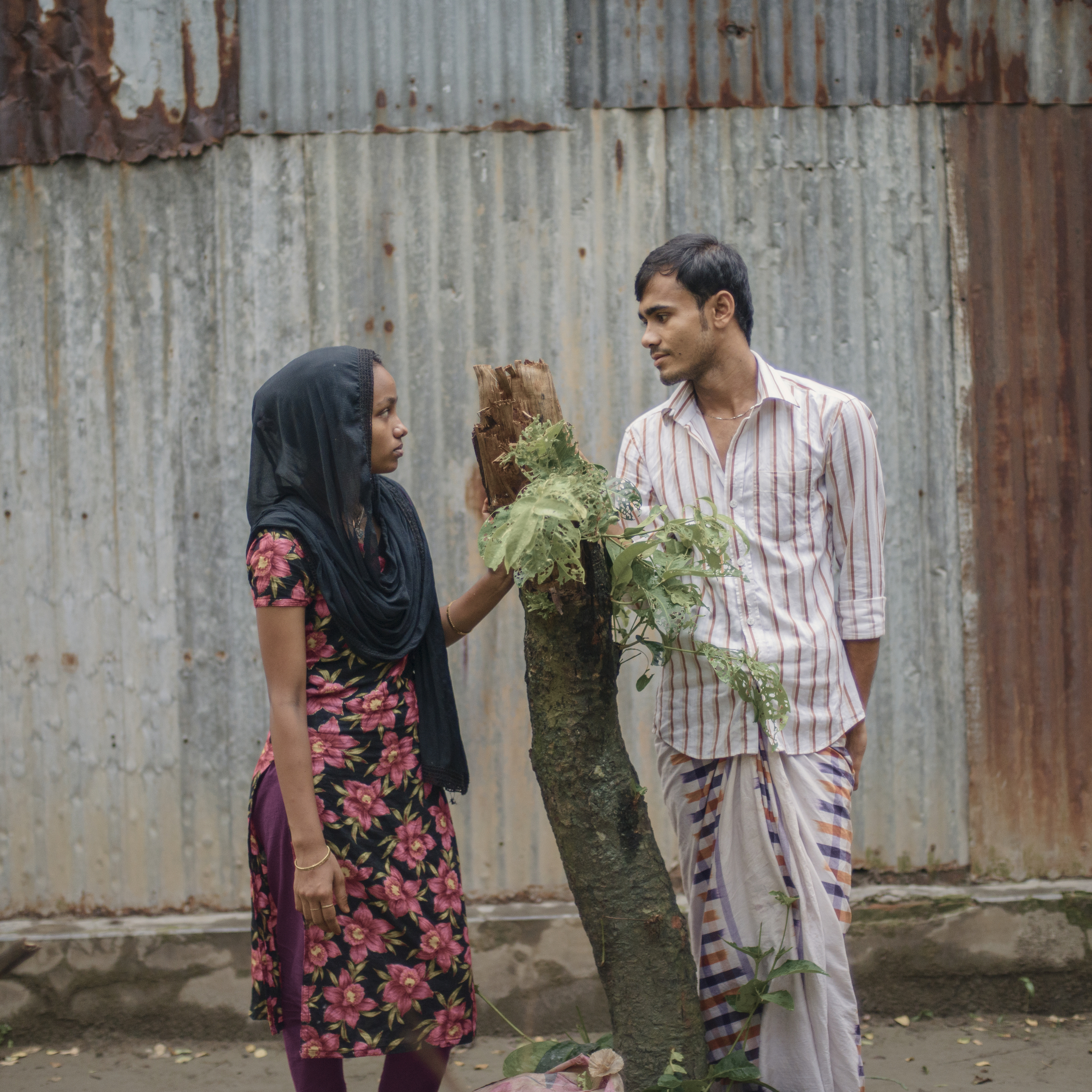 The unconditional love Belayed Hossain has for his wife Rabeya Begum is helping her extensively to heal from her emotional trauma after the collapse