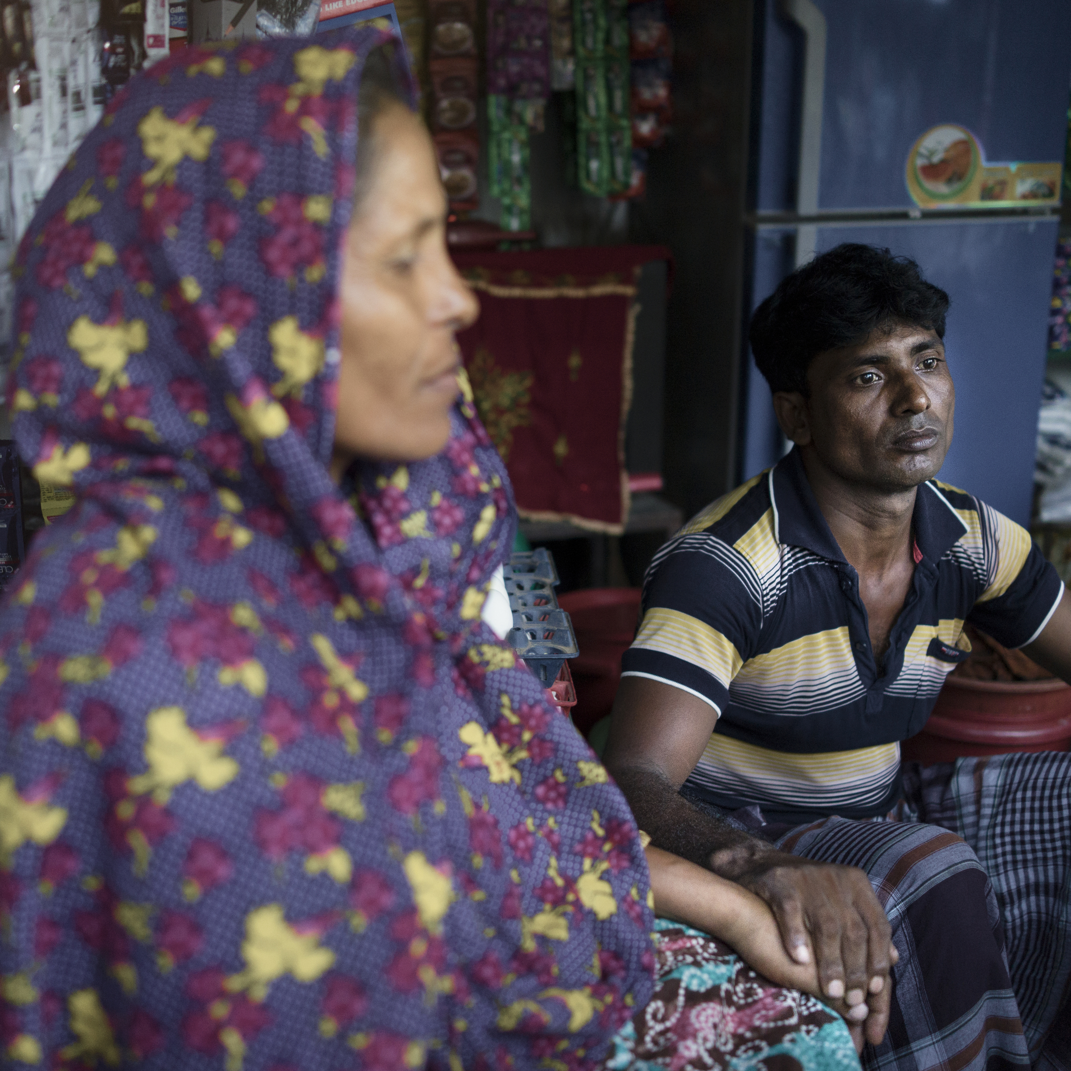 Abdul Alim has to remarry for his children's welfare after his wife's death in Rana Plaza incident