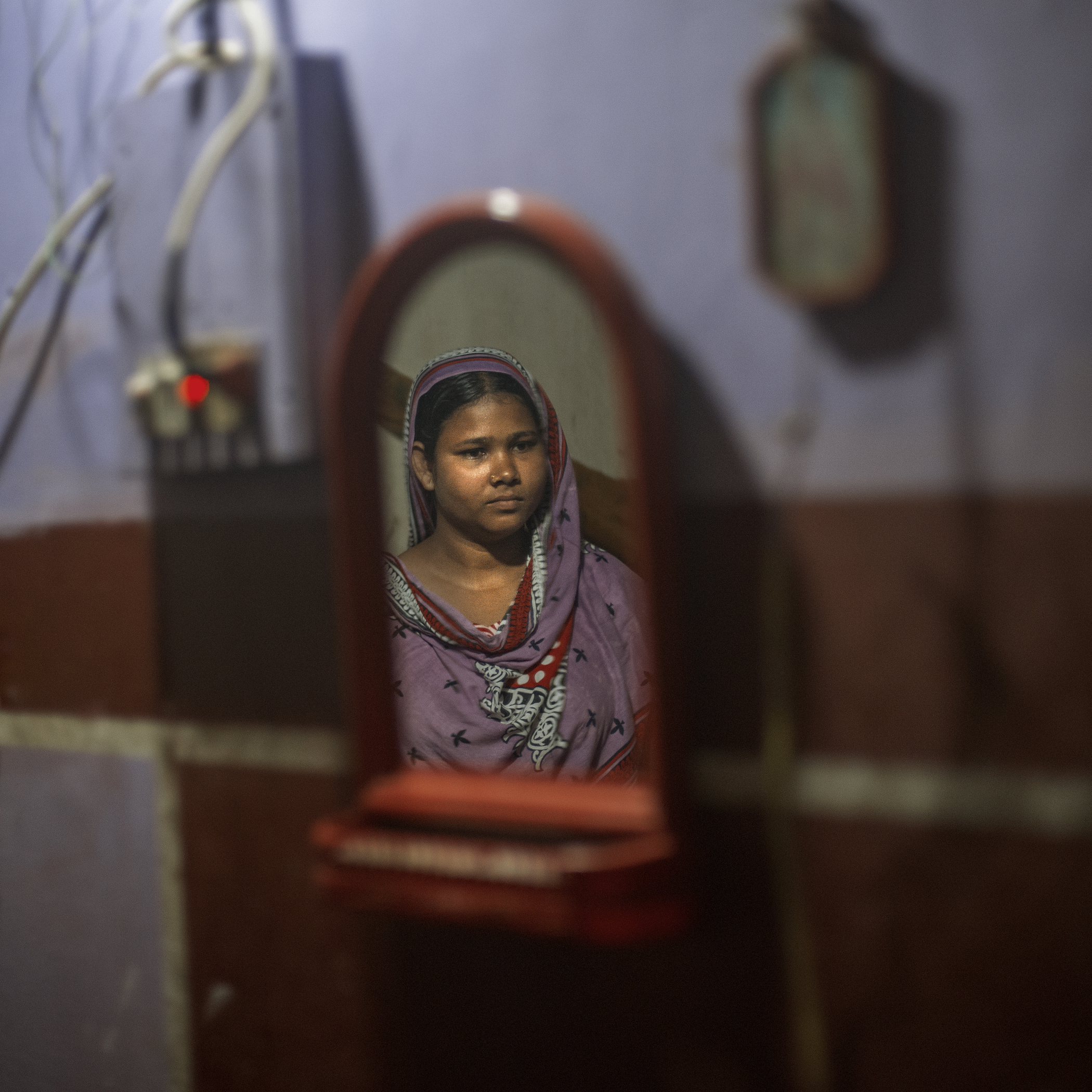 Rana plaza incident made Moushumi depressed and alone in deep inside