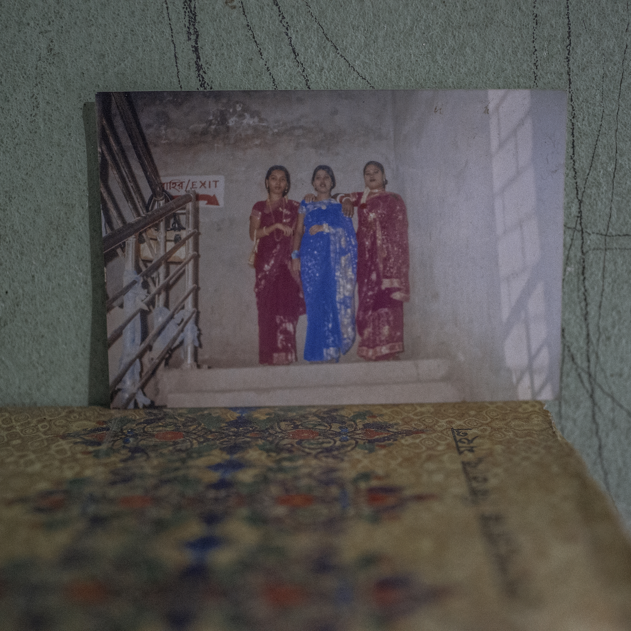Lipi Aktar with her friends who died in Rana plaza collapse