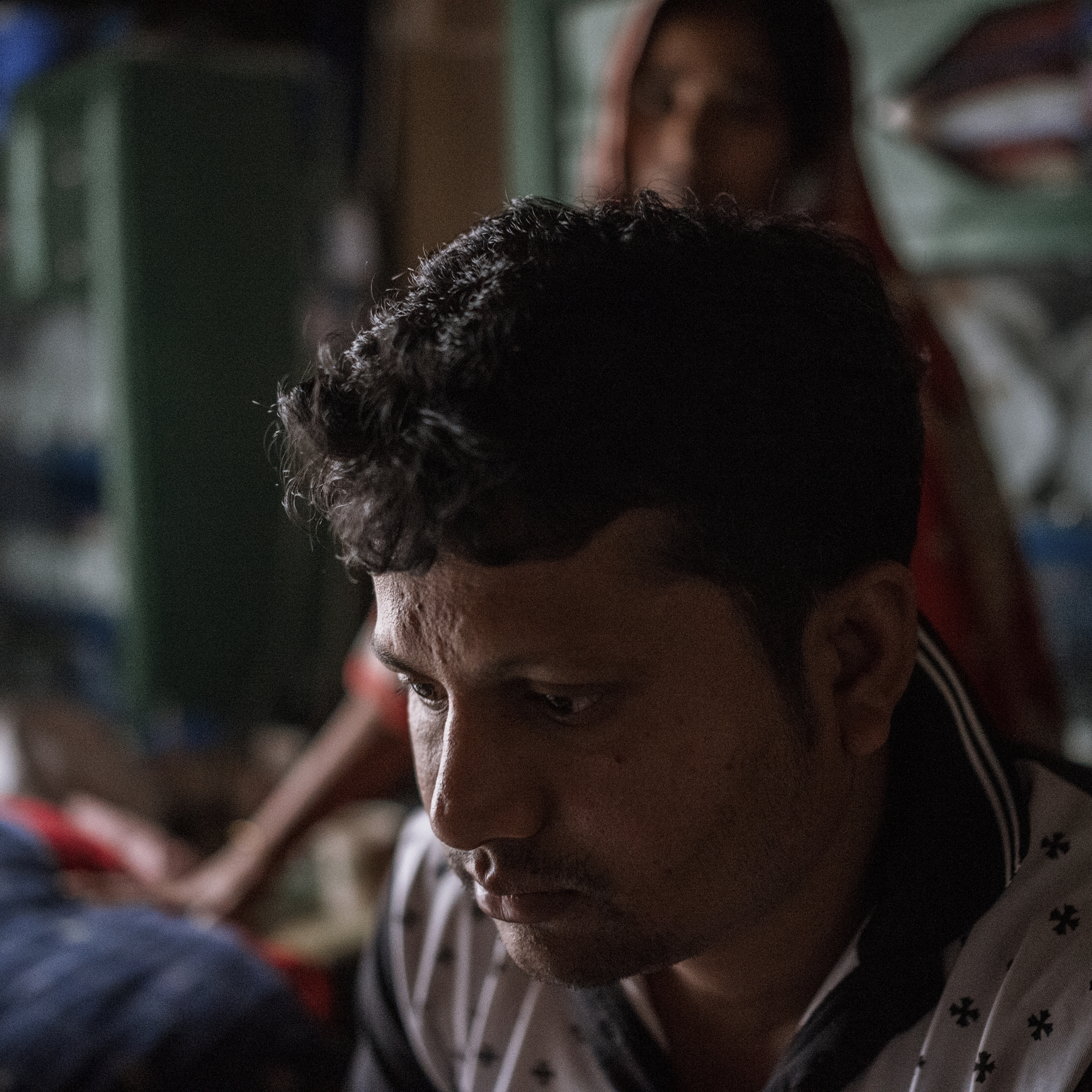 Shamim, who formerly worked as a supervisor in a garments factory, now works as an operator because he was rendered unfit for the post when Rana Plaza collapsed and injured him severely.