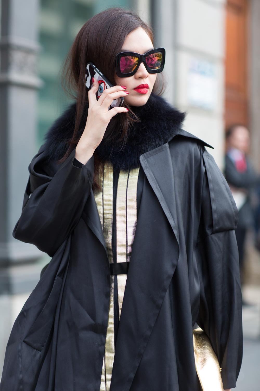 Street Style Milan Fashion Week '15