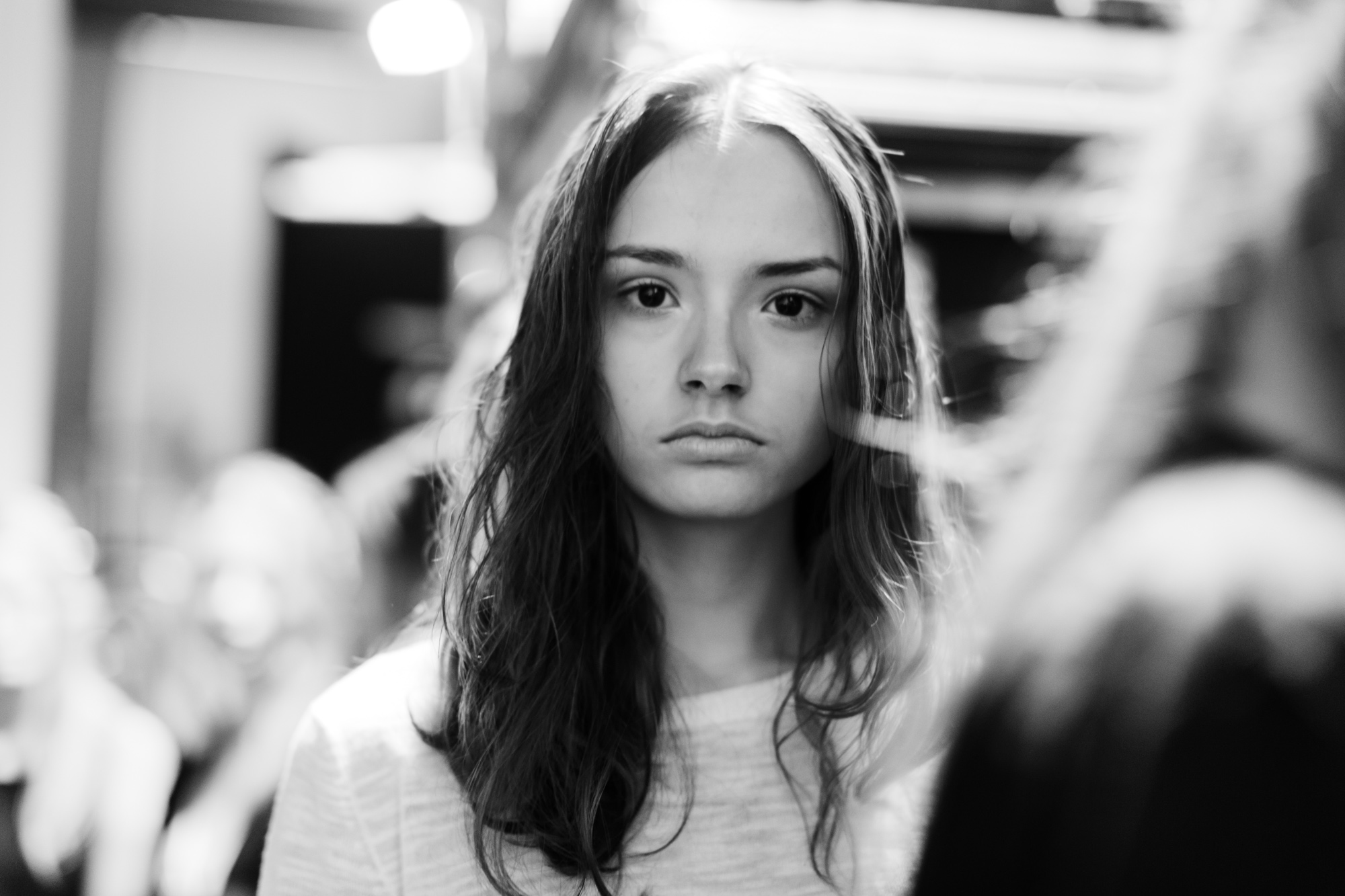 Model, Apu Jan Backstage